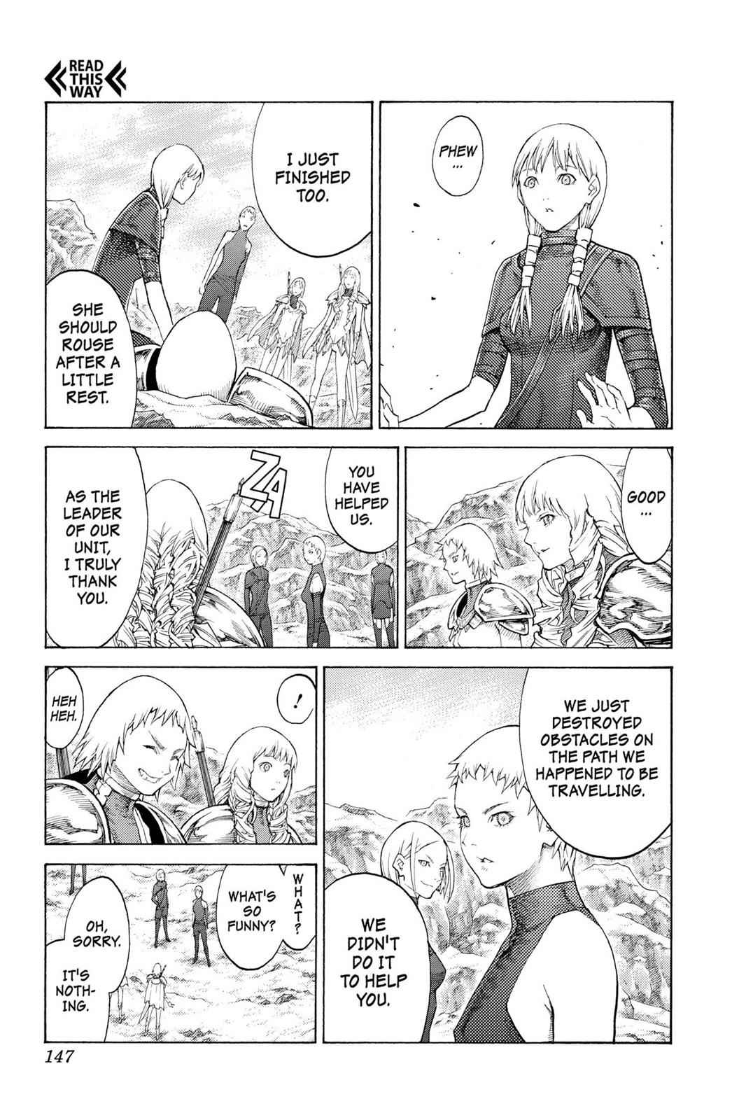 Claymore Chapter 112 Page 20