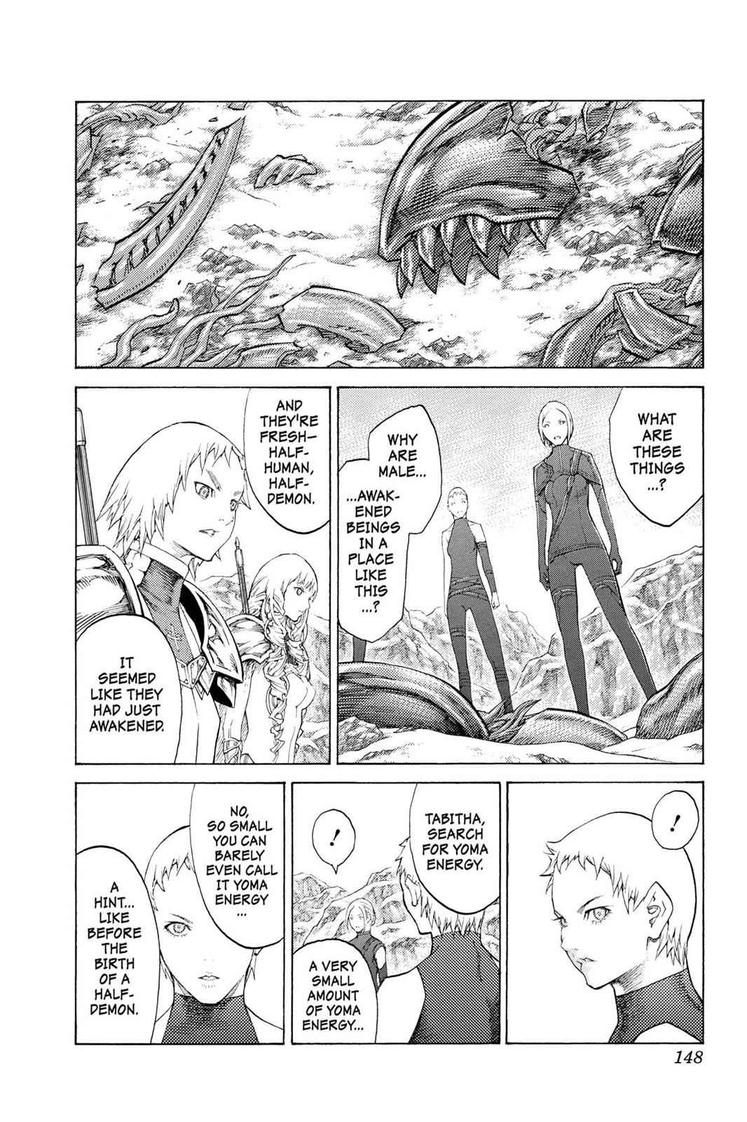 Claymore Chapter 112 Page 21