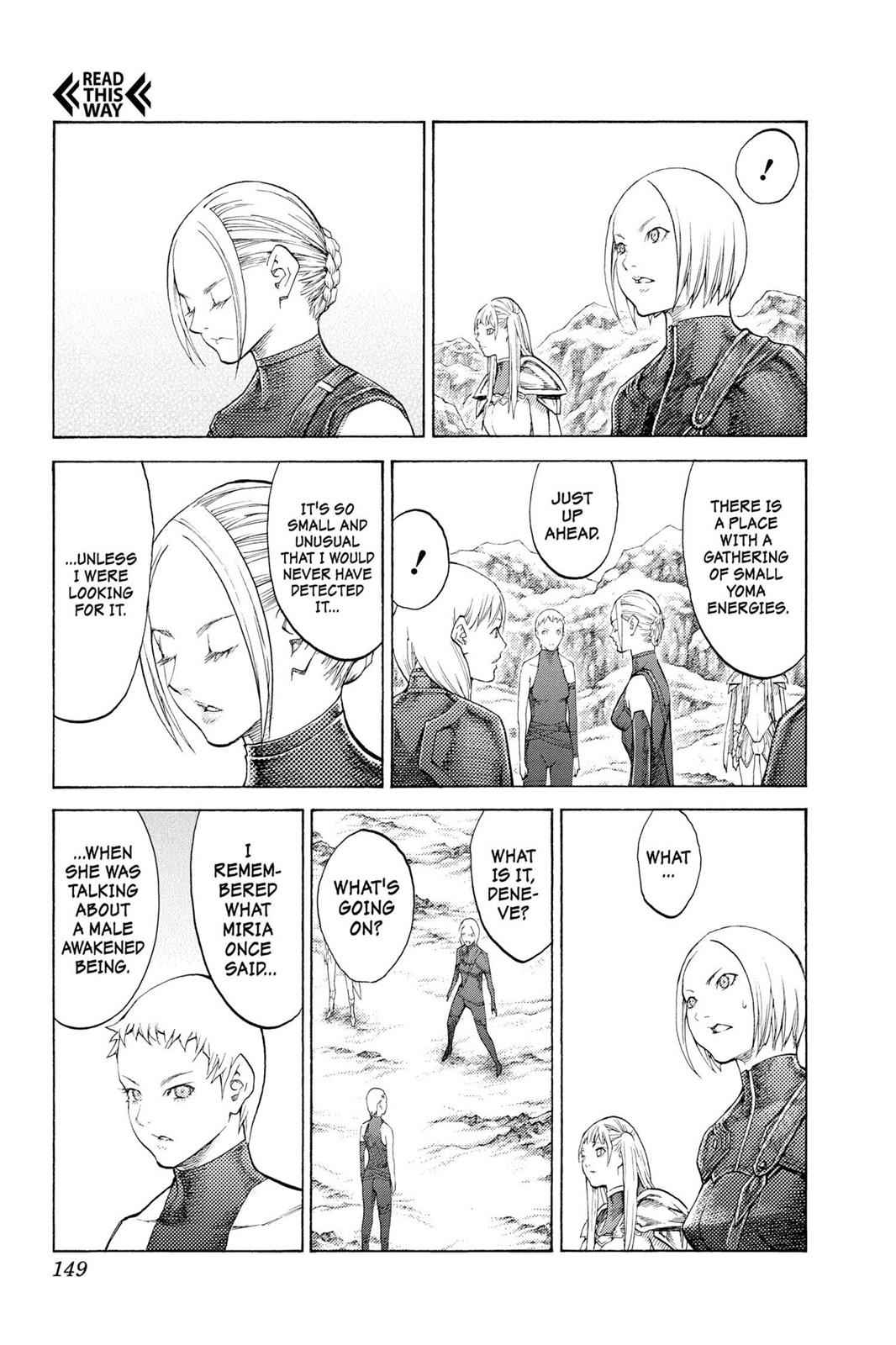 Claymore Chapter 112 Page 22