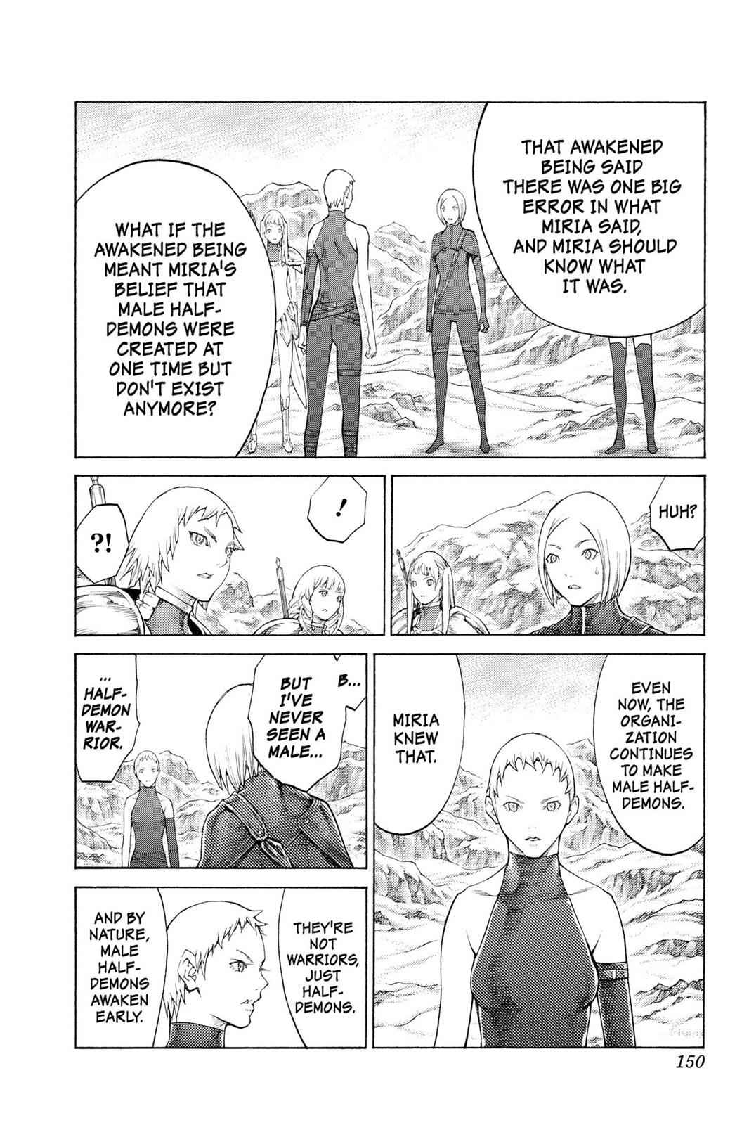 Claymore Chapter 112 Page 23