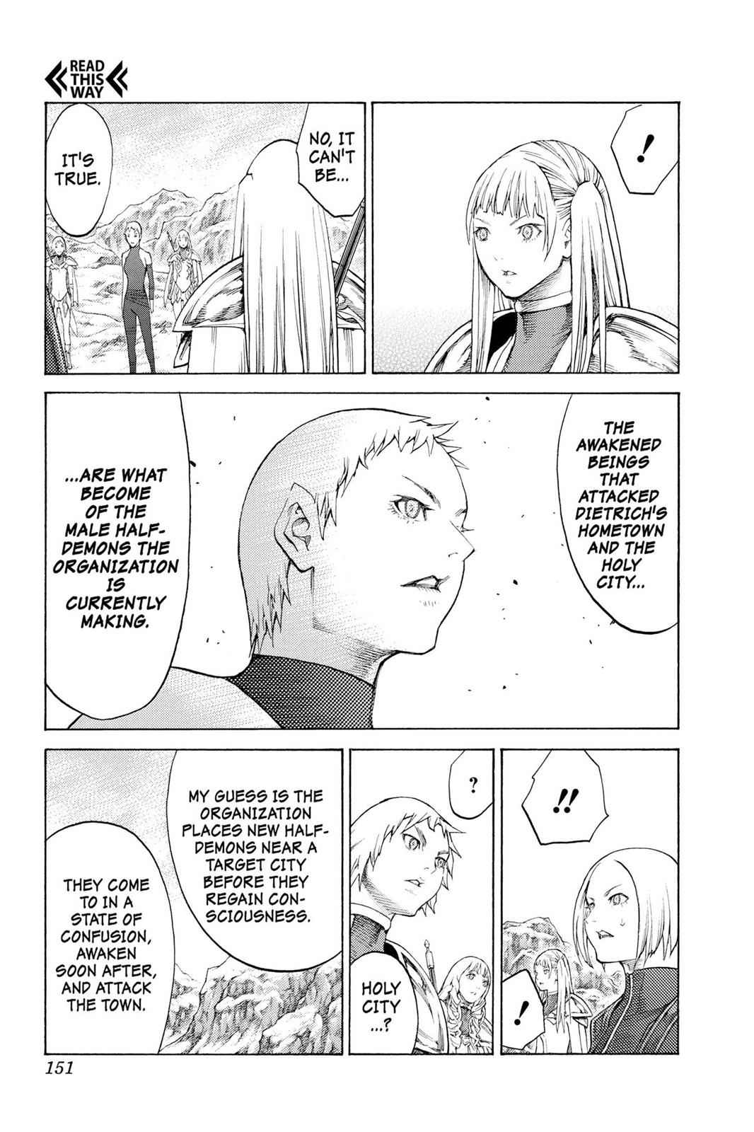 Claymore Chapter 112 Page 24