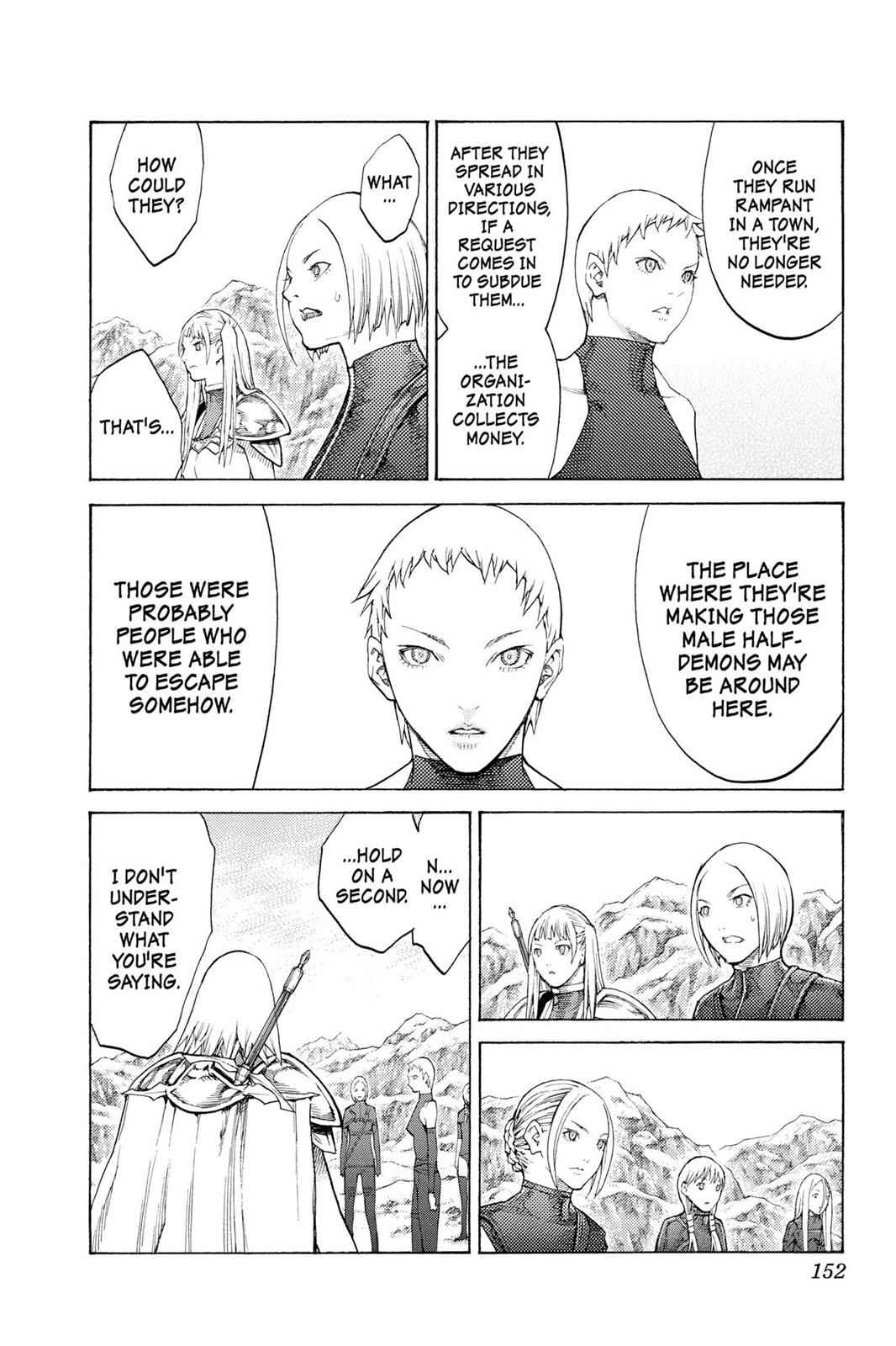 Claymore Chapter 112 Page 25