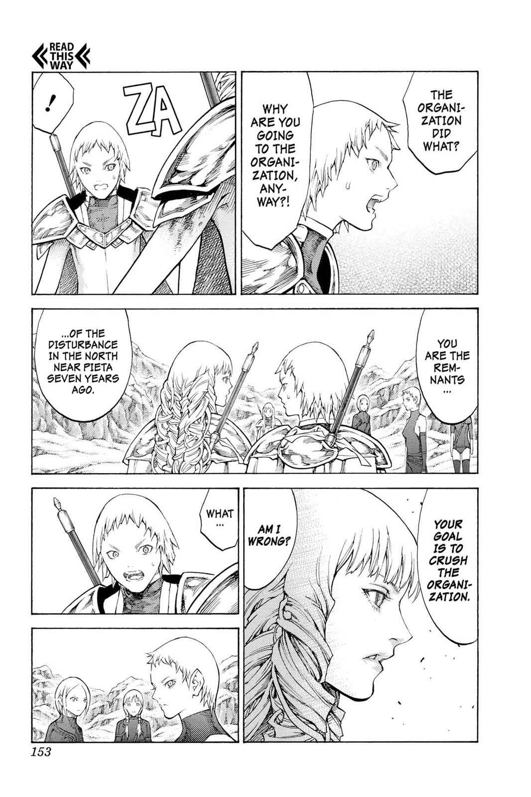 Claymore Chapter 112 Page 26