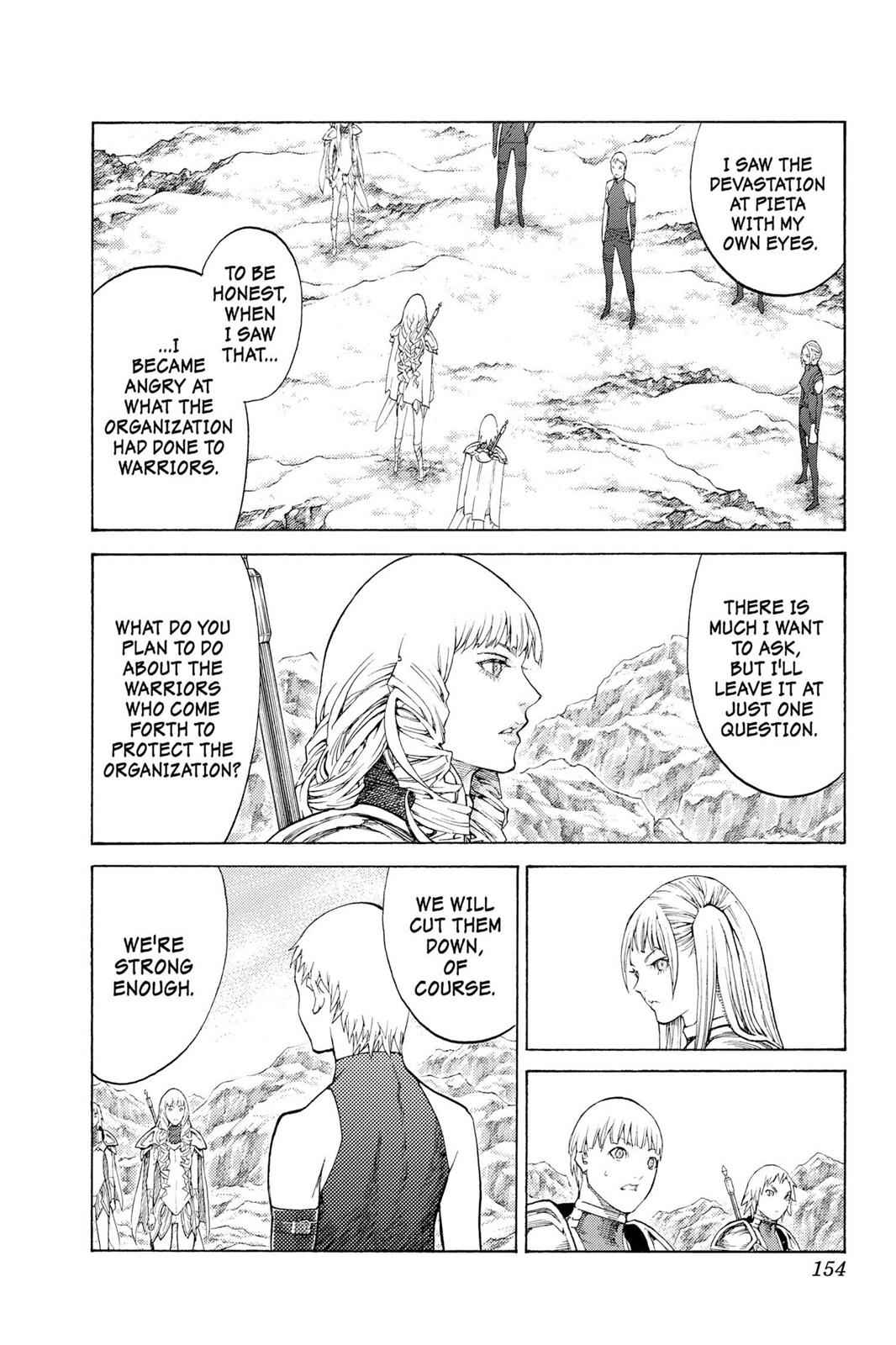 Claymore Chapter 112 Page 27