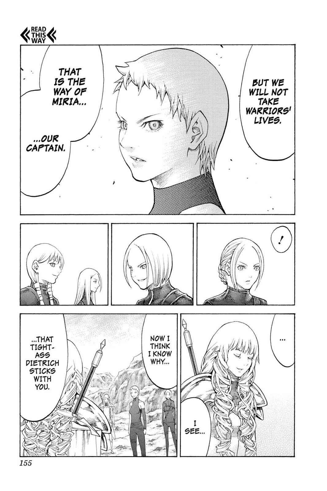 Claymore Chapter 112 Page 28