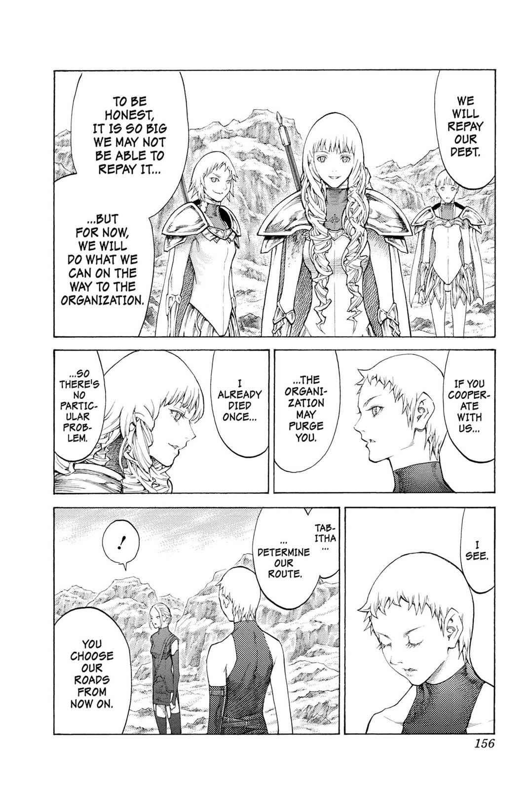Claymore Chapter 112 Page 29