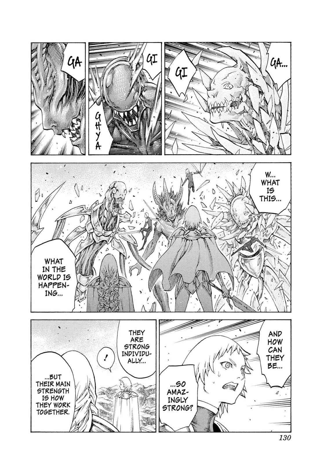 Claymore Chapter 112 Page 3