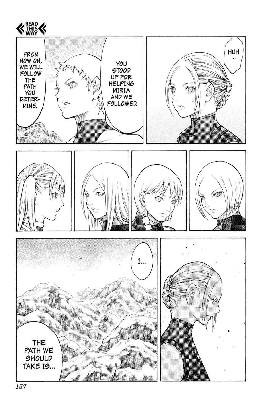 Claymore Chapter 112 Page 30