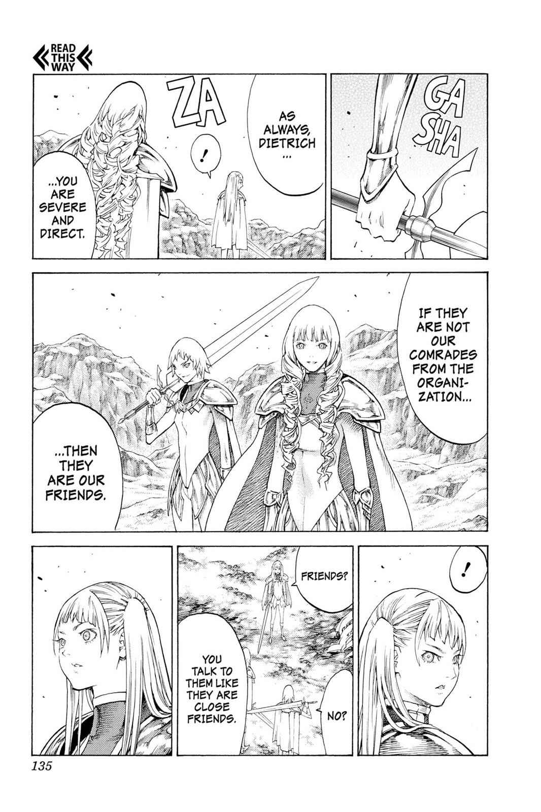 Claymore Chapter 112 Page 8