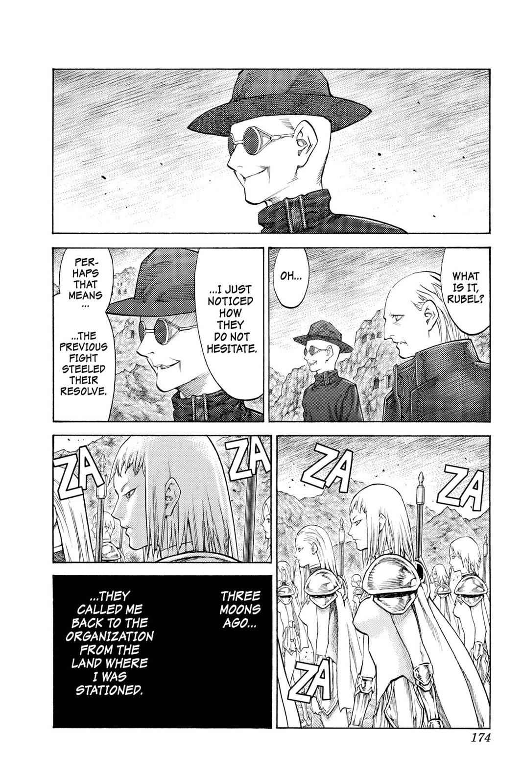 Claymore Chapter 113 Page 14