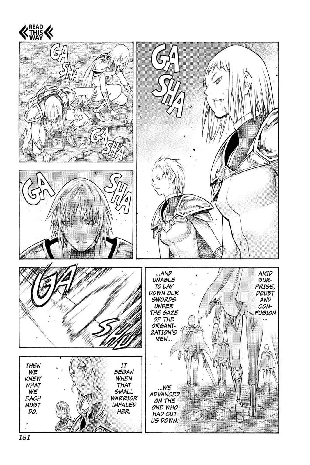 Claymore Chapter 113 Page 20