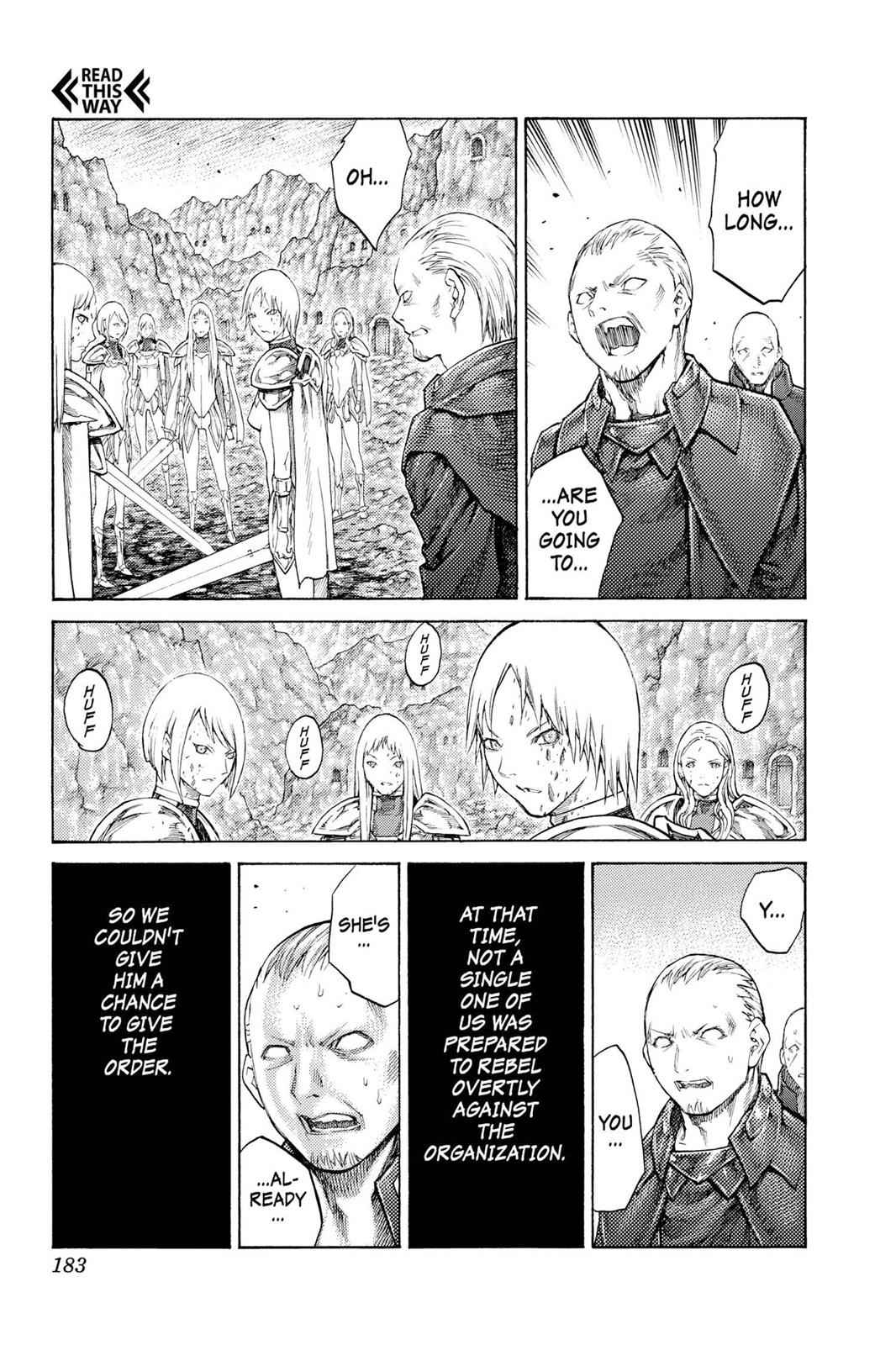 Claymore Chapter 113 Page 22