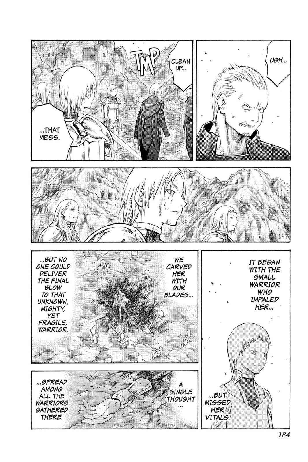 Claymore Chapter 113 Page 23