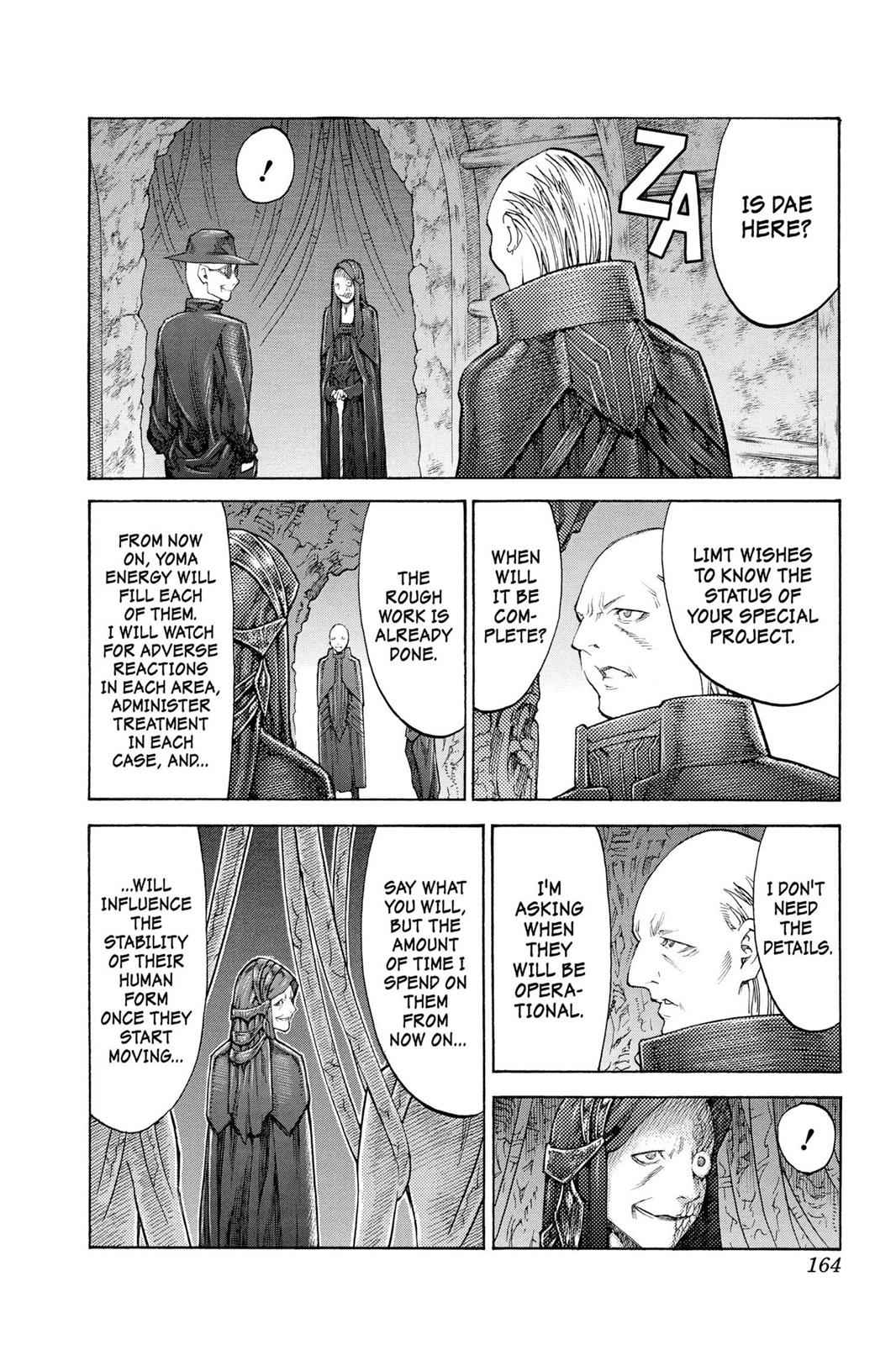 Claymore Chapter 113 Page 5