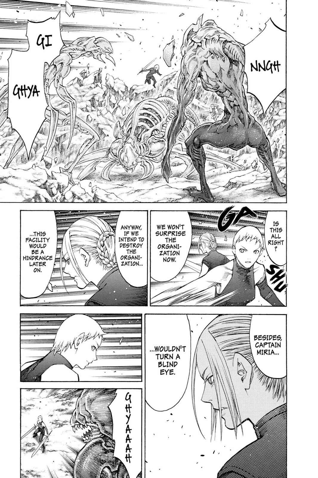 Claymore Chapter 113 Page 8
