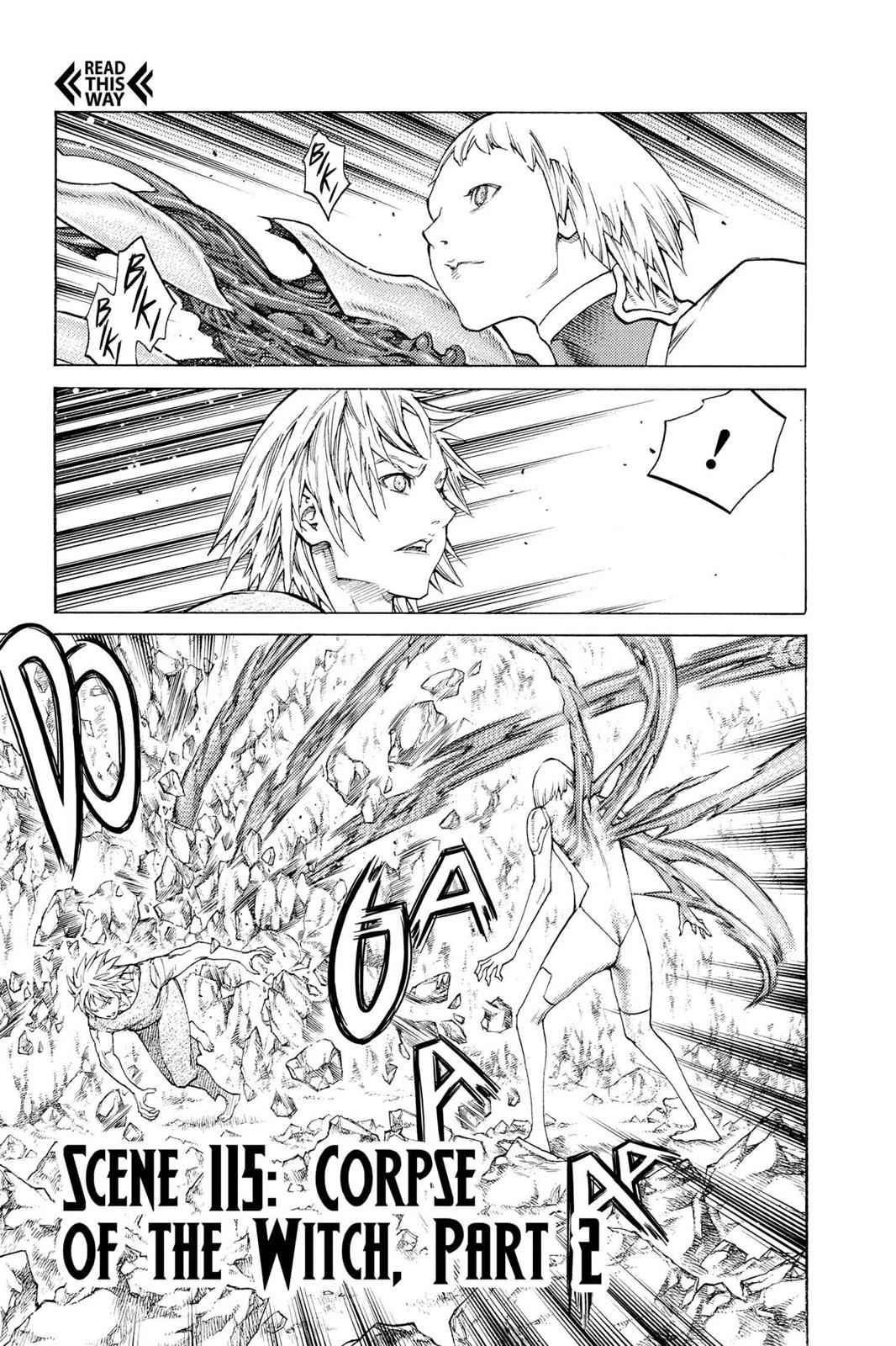 Claymore Chapter 115 Page 1