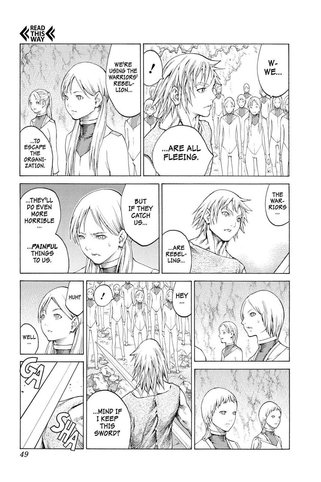 Claymore Chapter 115 Page 11