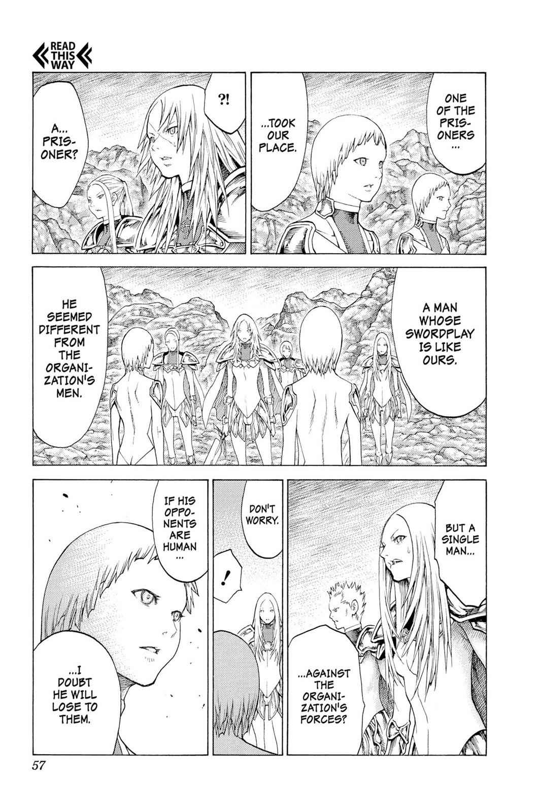 Claymore Chapter 115 Page 19