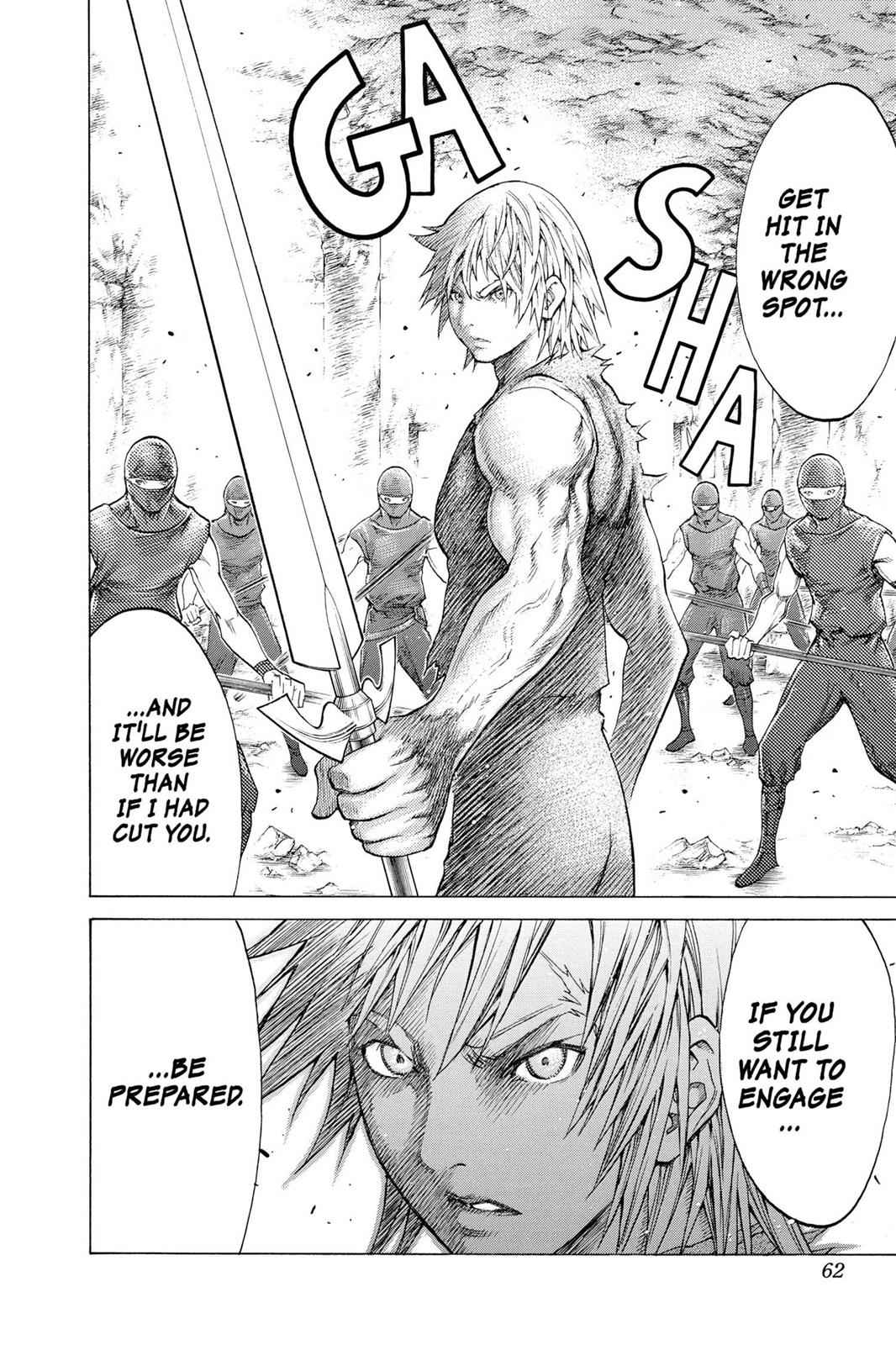 Claymore Chapter 115 Page 24