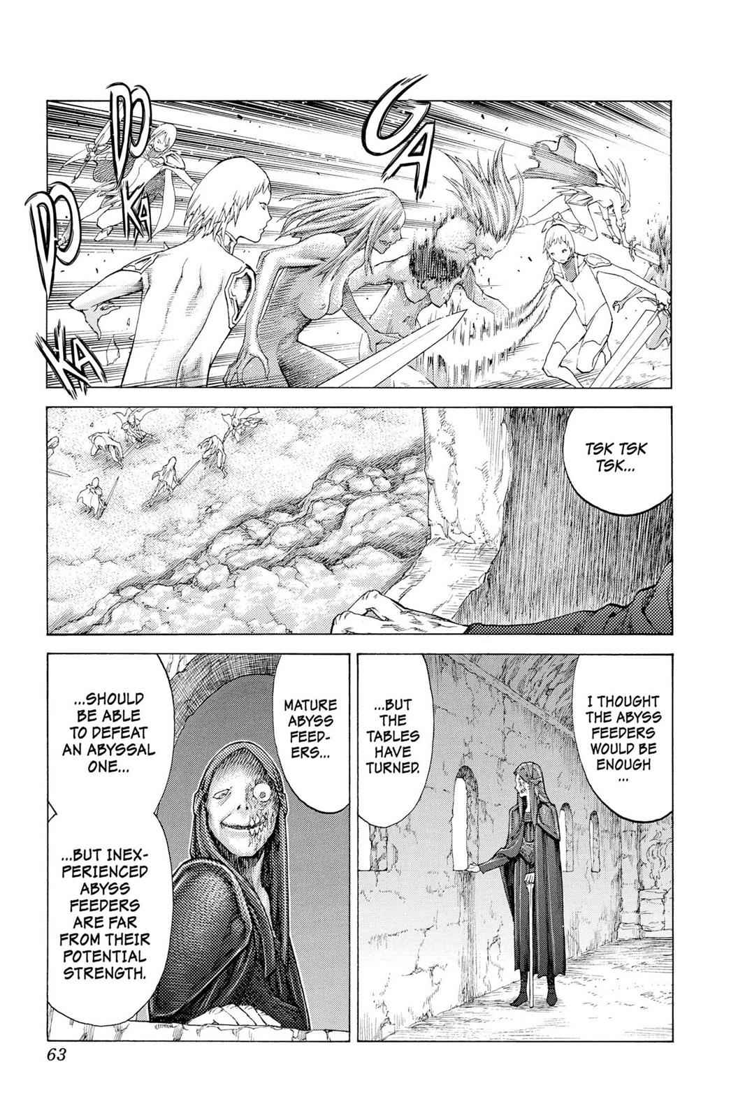 Claymore Chapter 115 Page 25