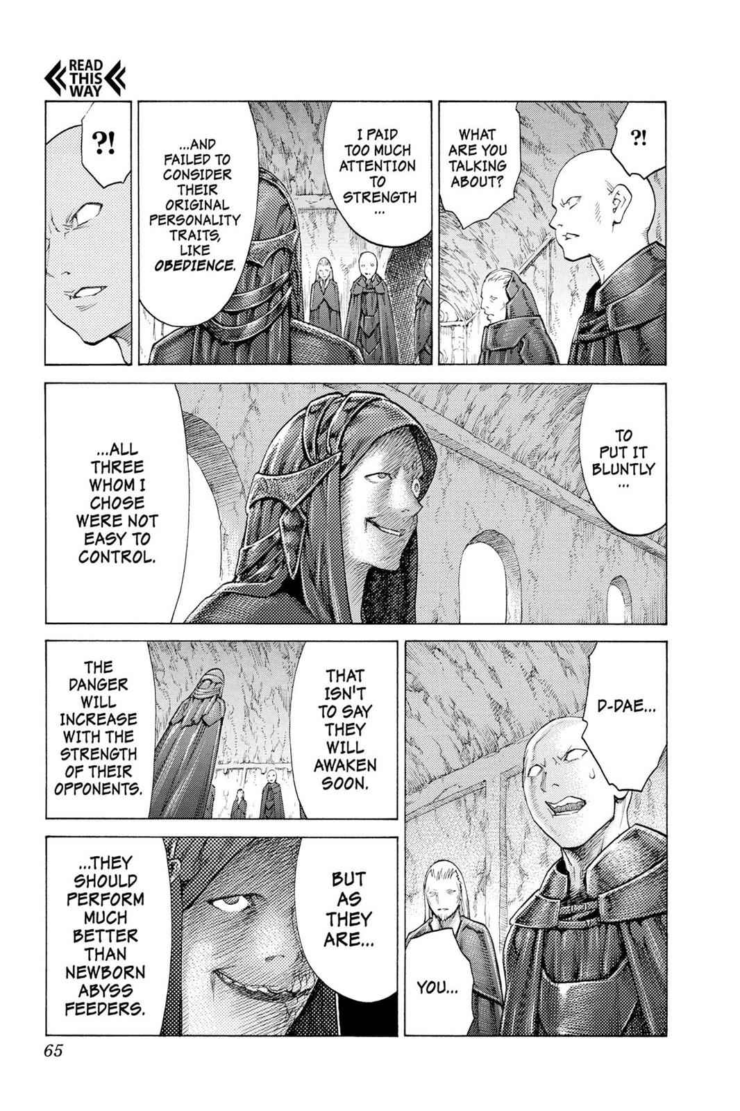Claymore Chapter 115 Page 27