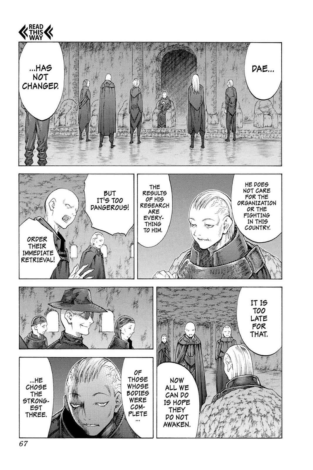 Claymore Chapter 115 Page 29