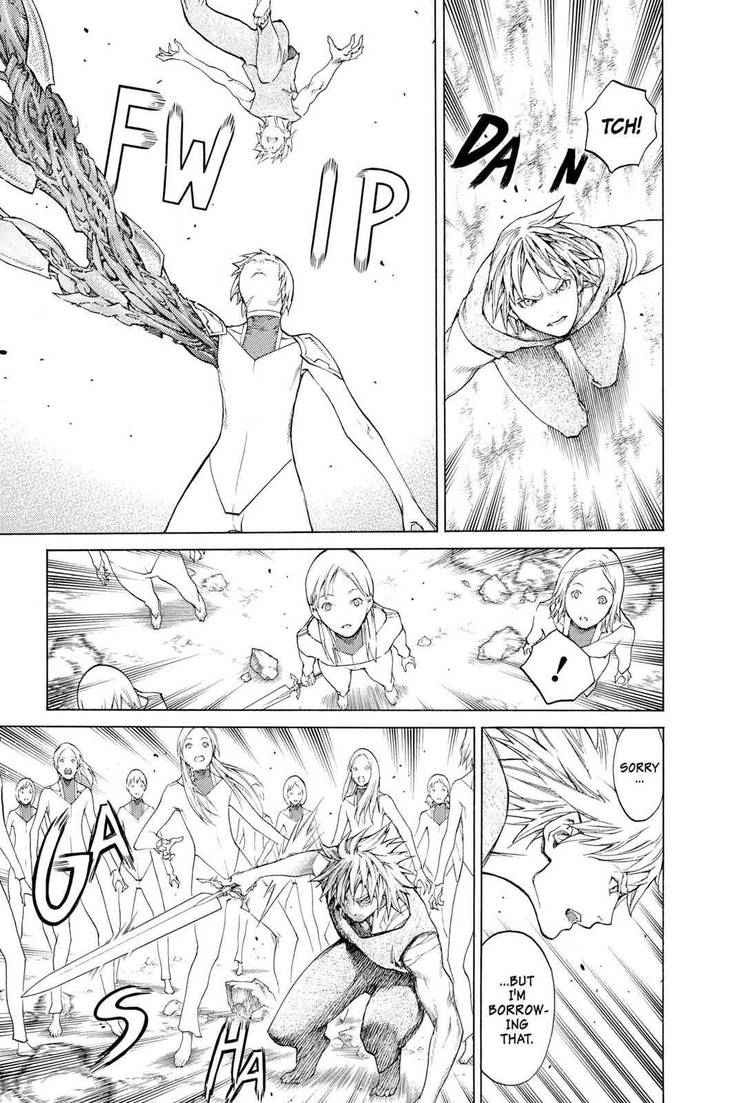 Claymore Chapter 115 Page 3