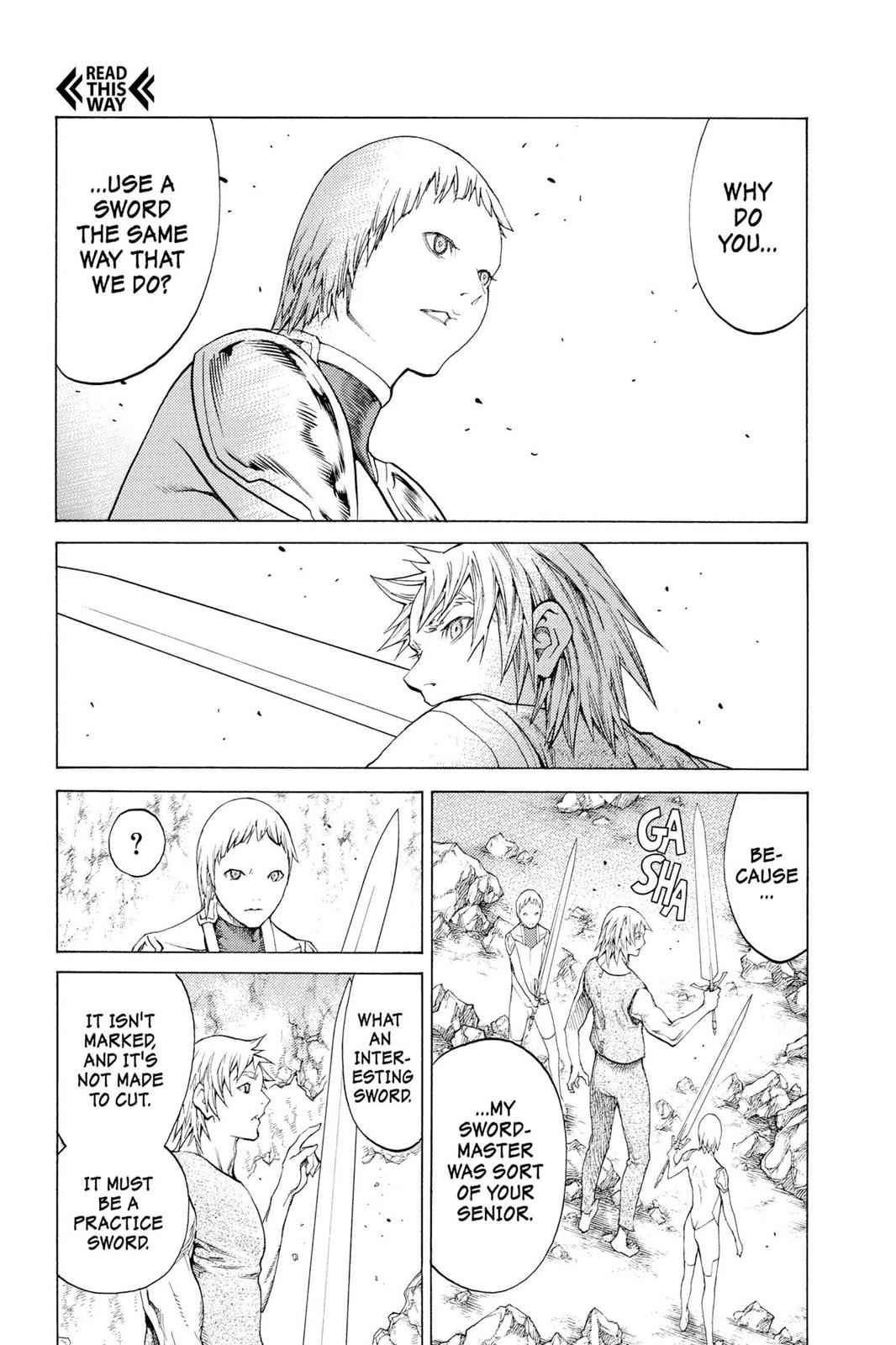 Claymore Chapter 115 Page 9