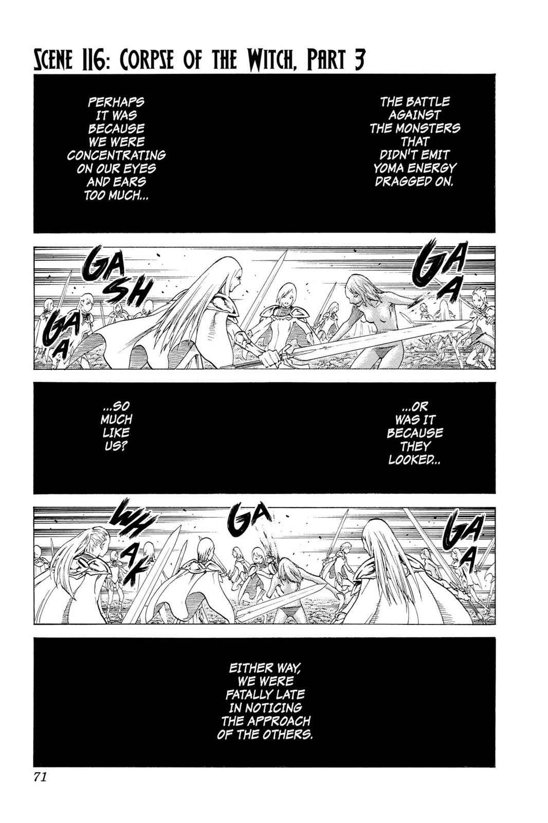 Claymore Chapter 116 Page 1
