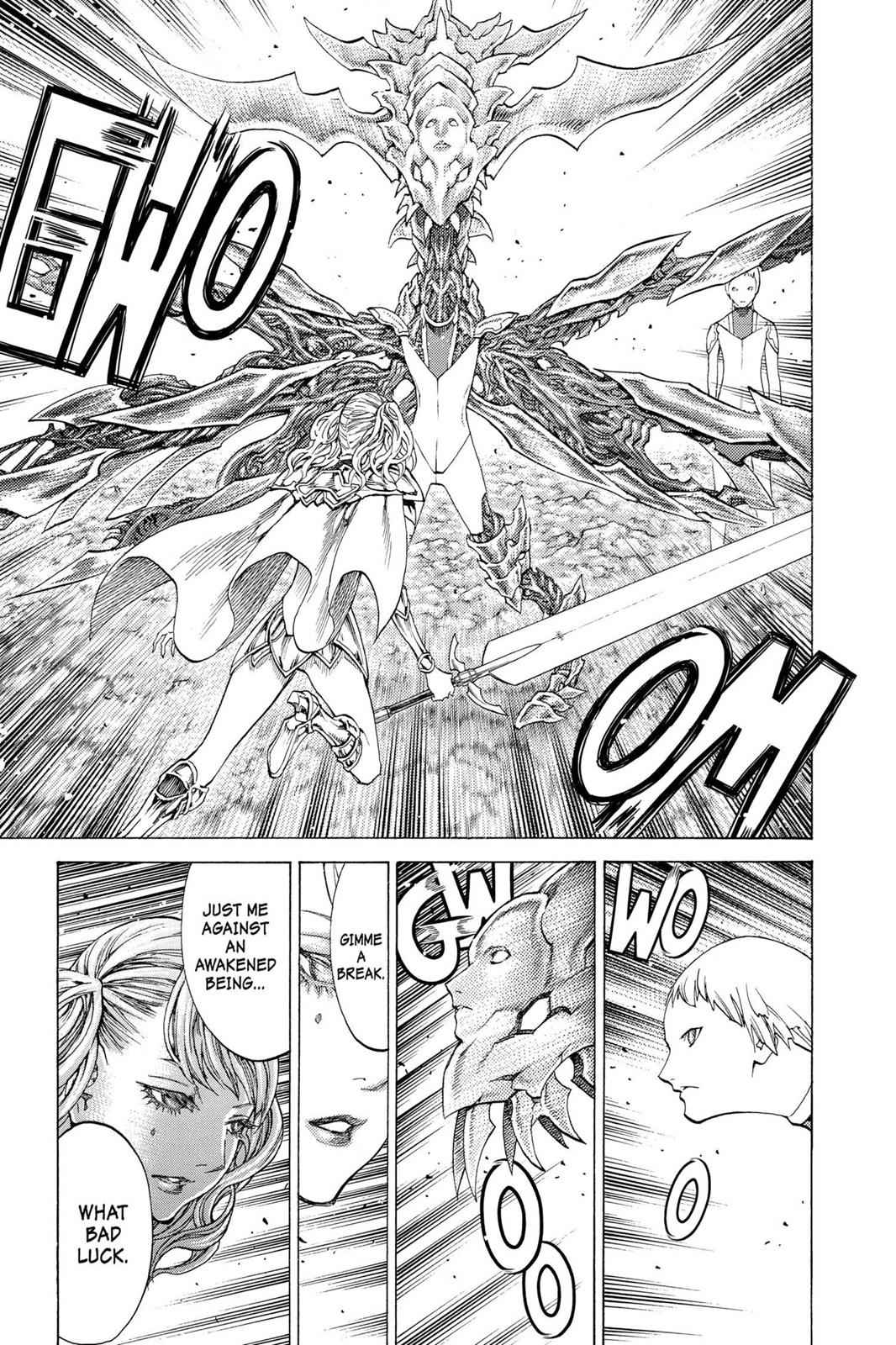 Claymore Chapter 116 Page 12