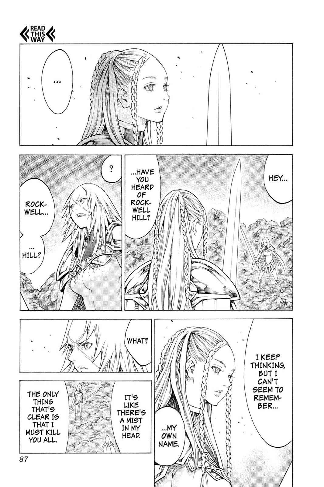 Claymore Chapter 116 Page 14