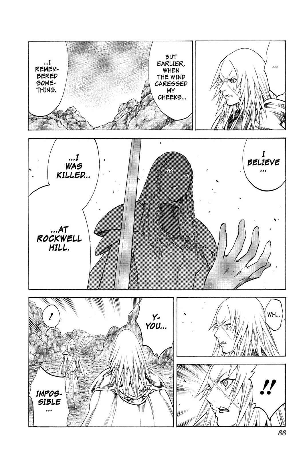 Claymore Chapter 116 Page 15