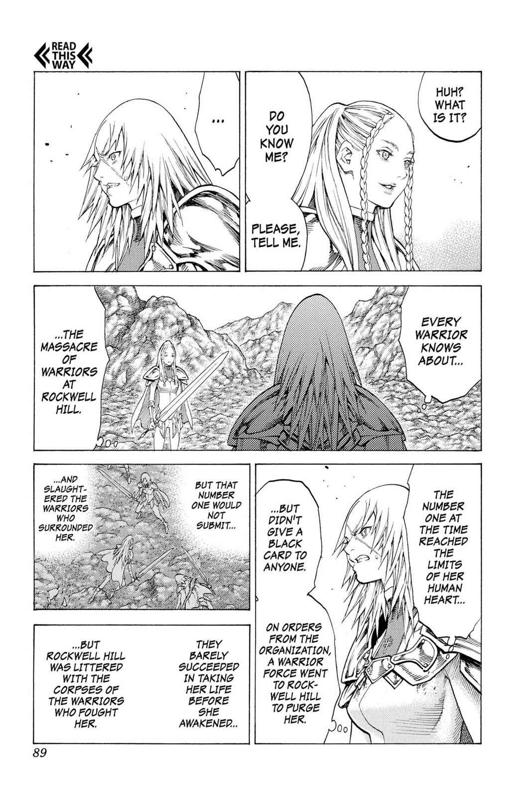 Claymore Chapter 116 Page 16