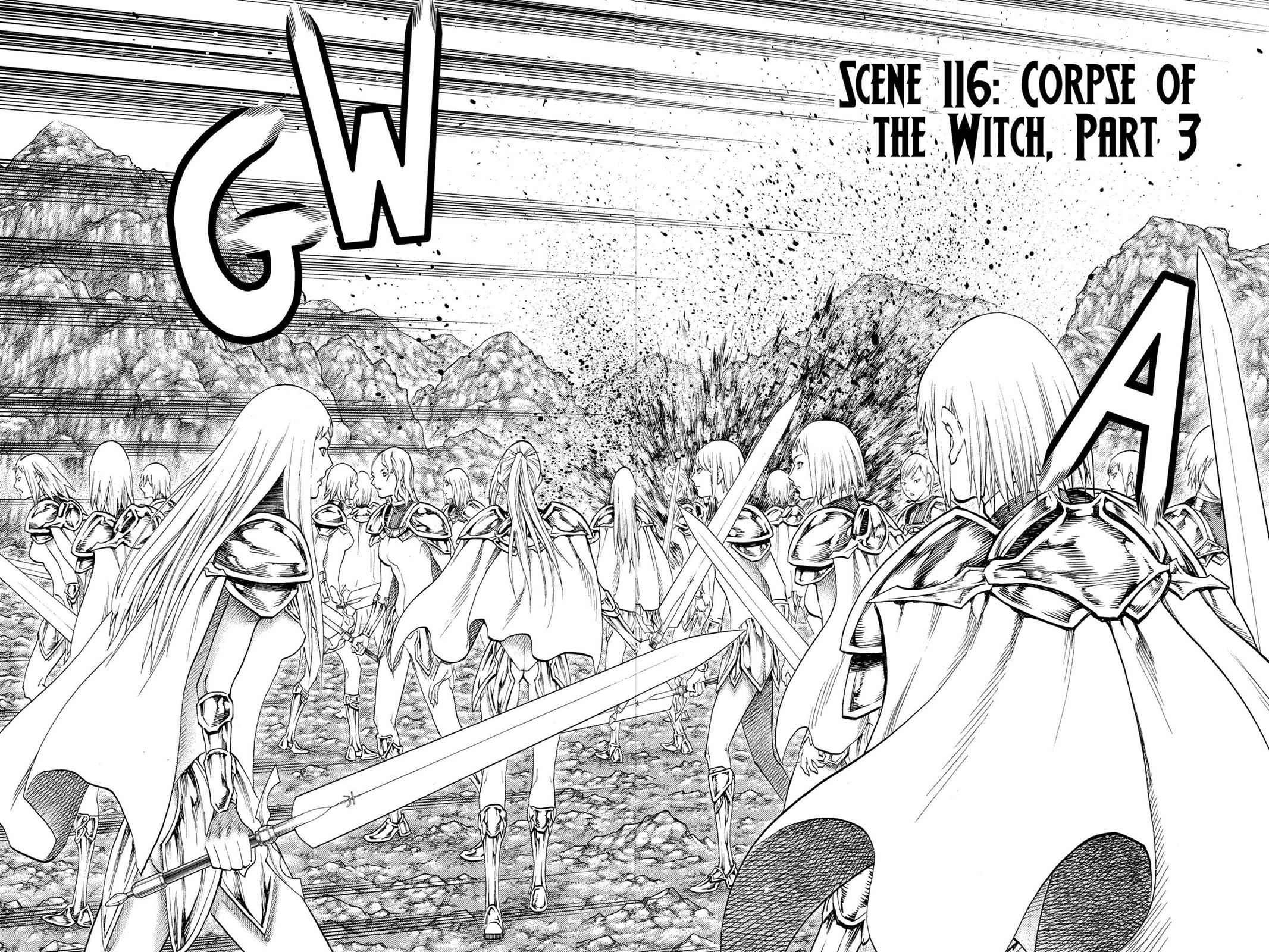 Claymore Chapter 116 Page 2