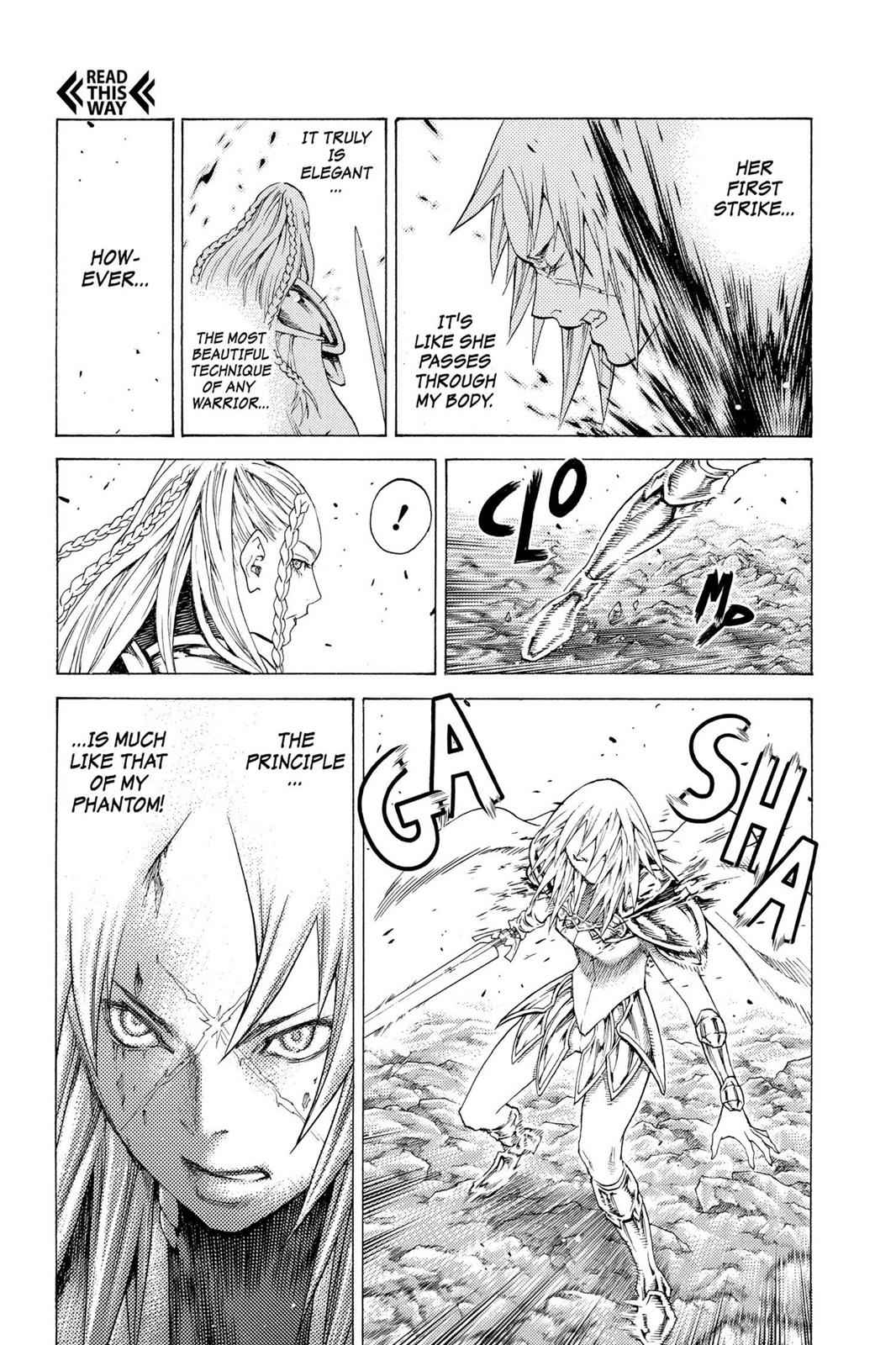 Claymore Chapter 116 Page 20