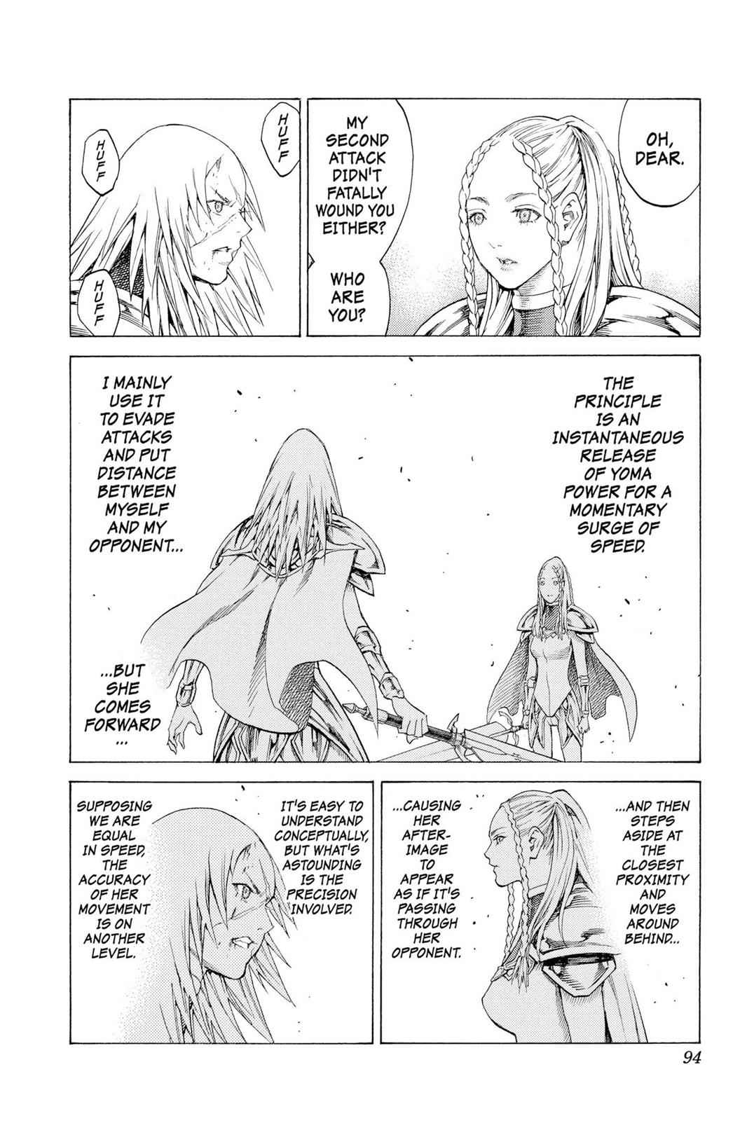 Claymore Chapter 116 Page 21