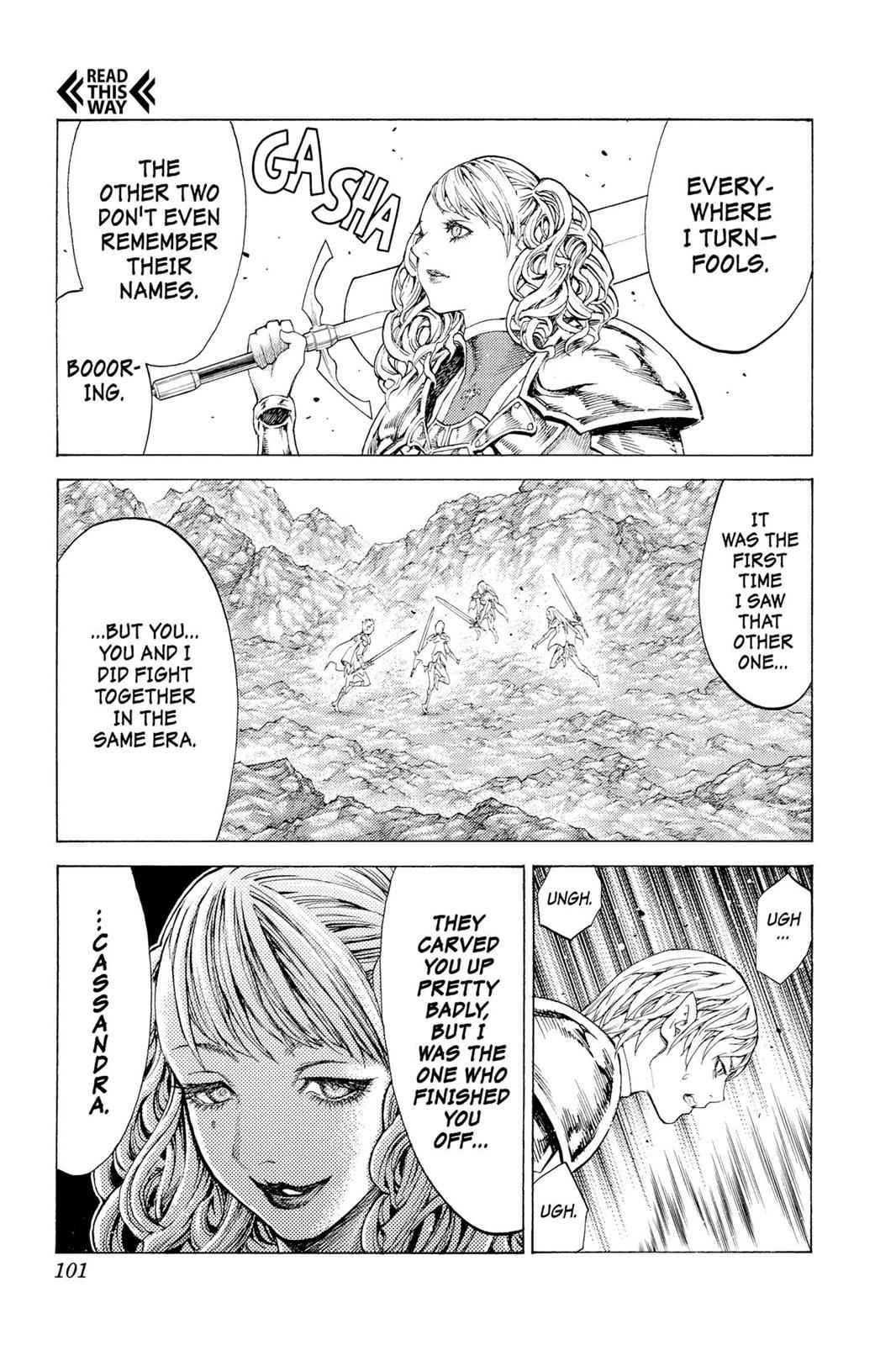 Claymore Chapter 116 Page 28