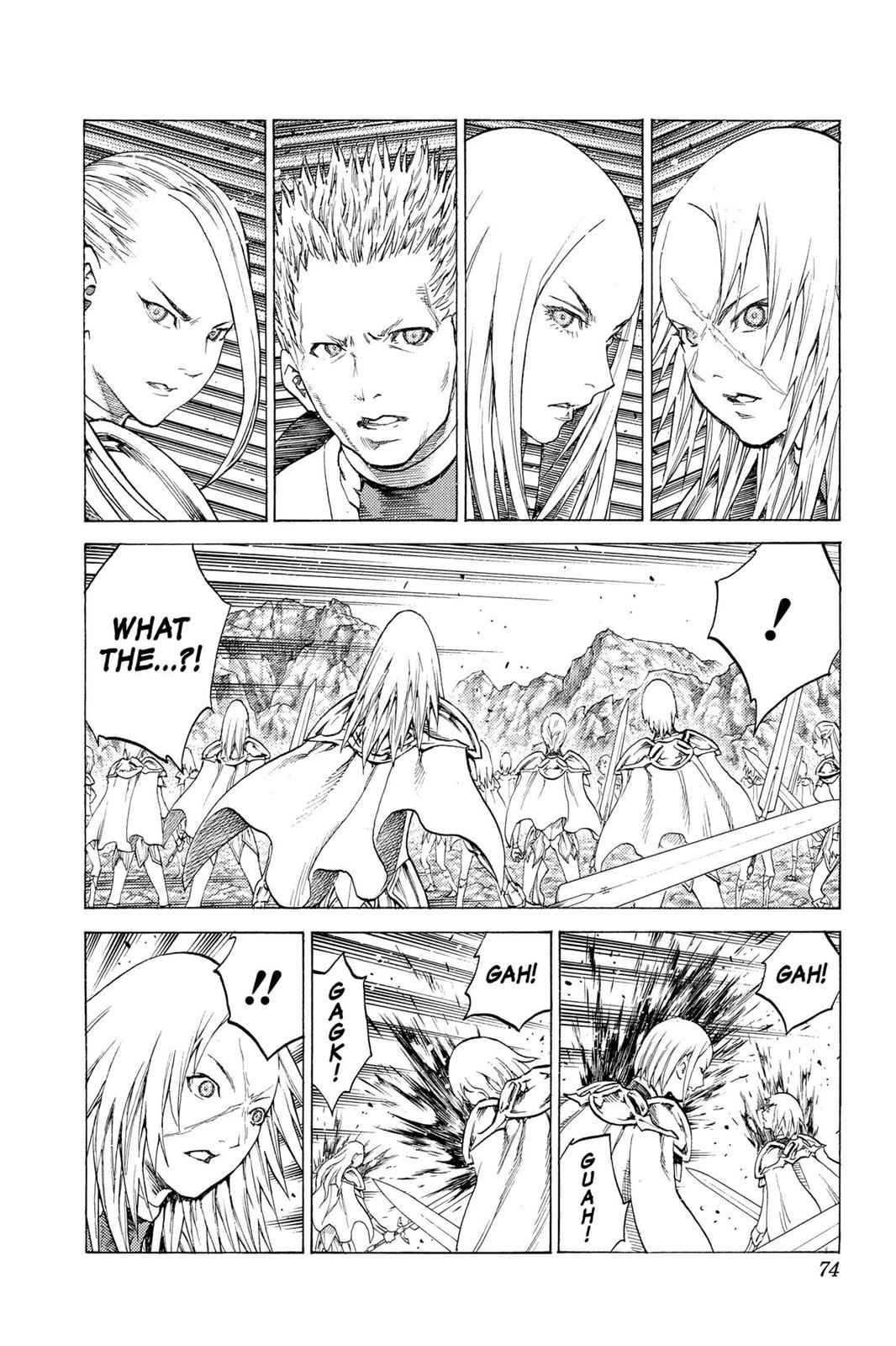 Claymore Chapter 116 Page 3