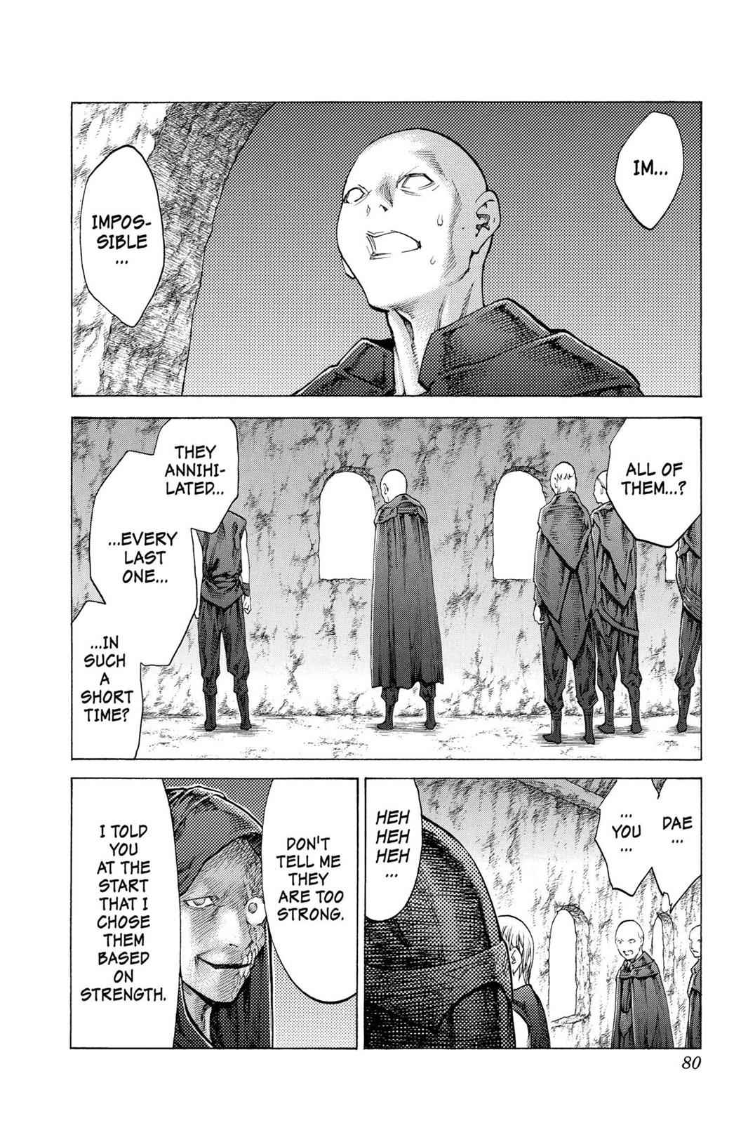 Claymore Chapter 116 Page 7