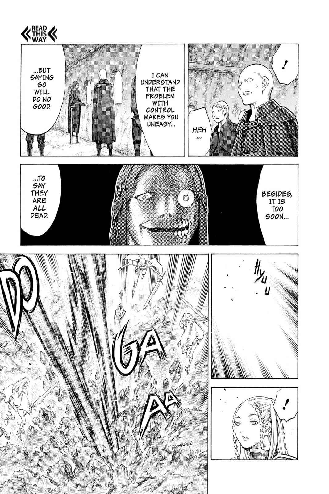 Claymore Chapter 116 Page 8