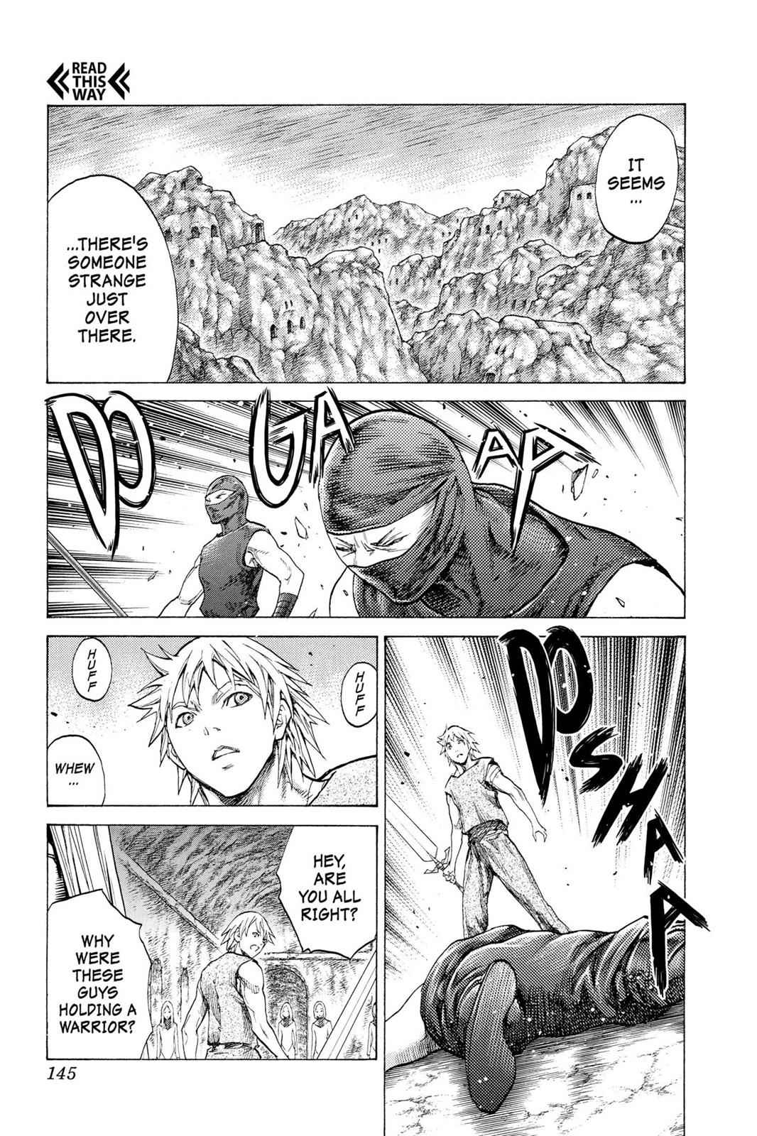 Claymore Chapter 118 Page 10