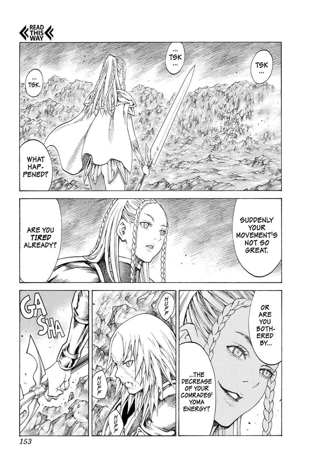 Claymore Chapter 118 Page 18