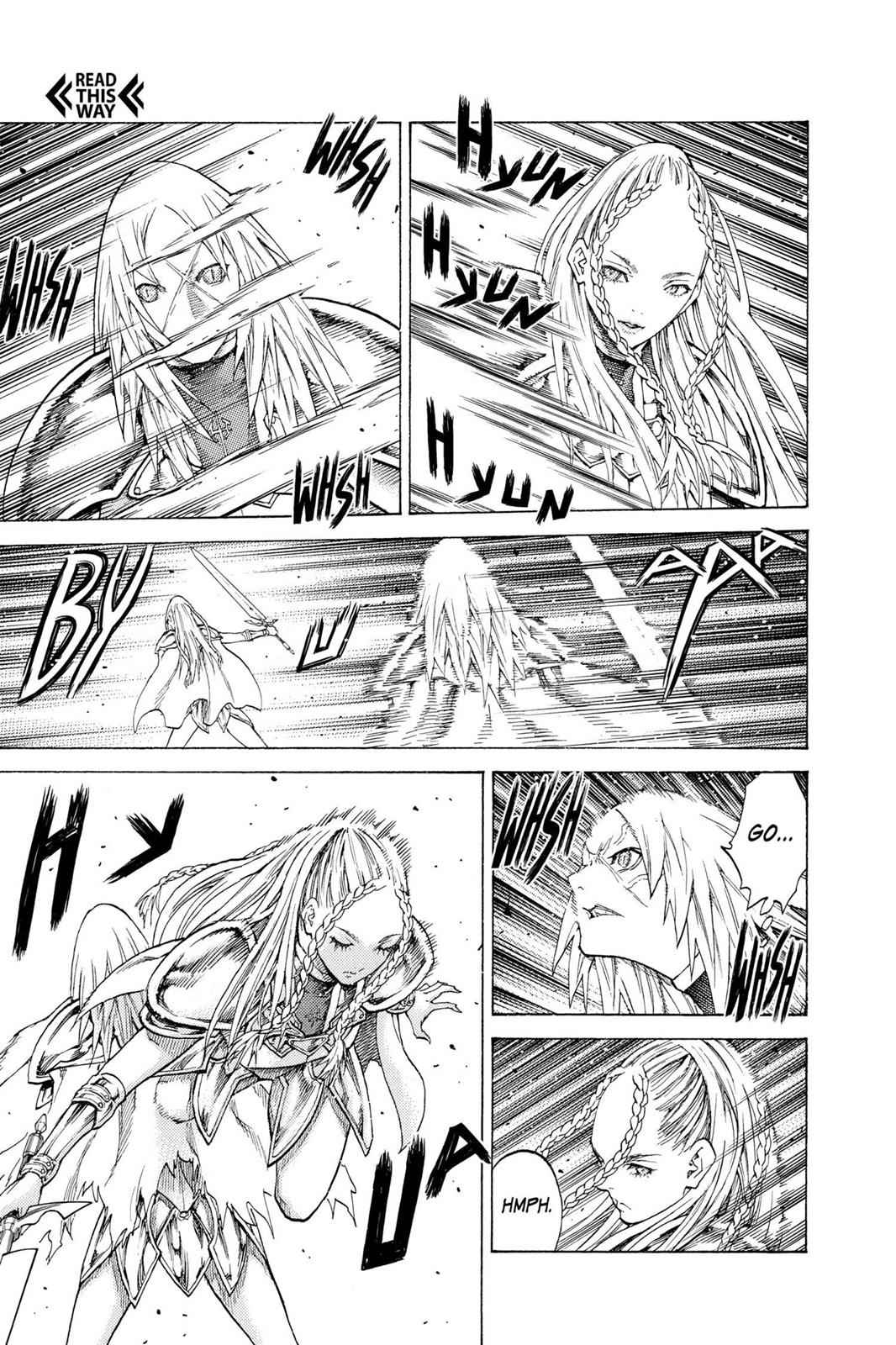 Claymore Chapter 118 Page 22