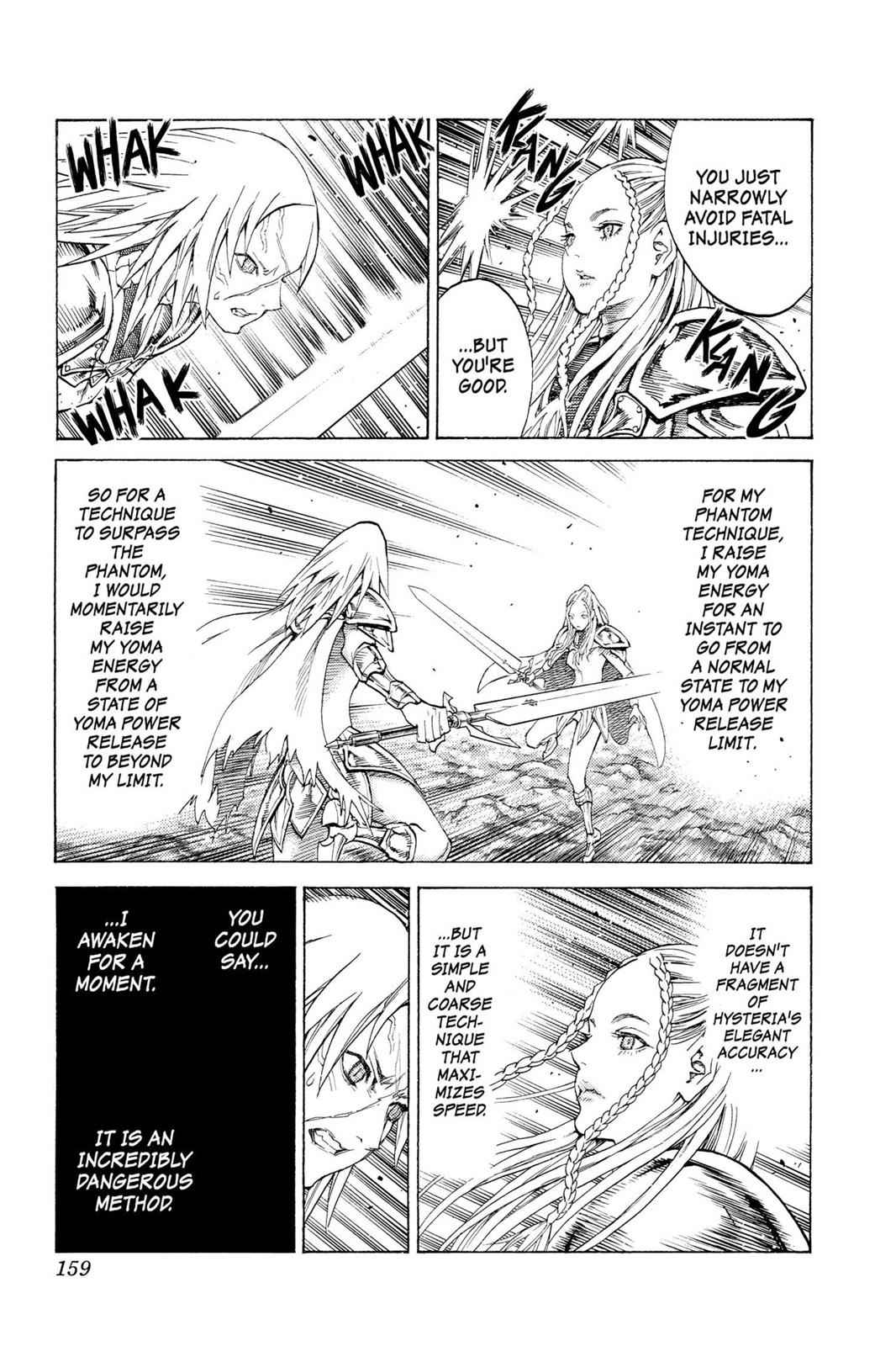 Claymore Chapter 118 Page 24