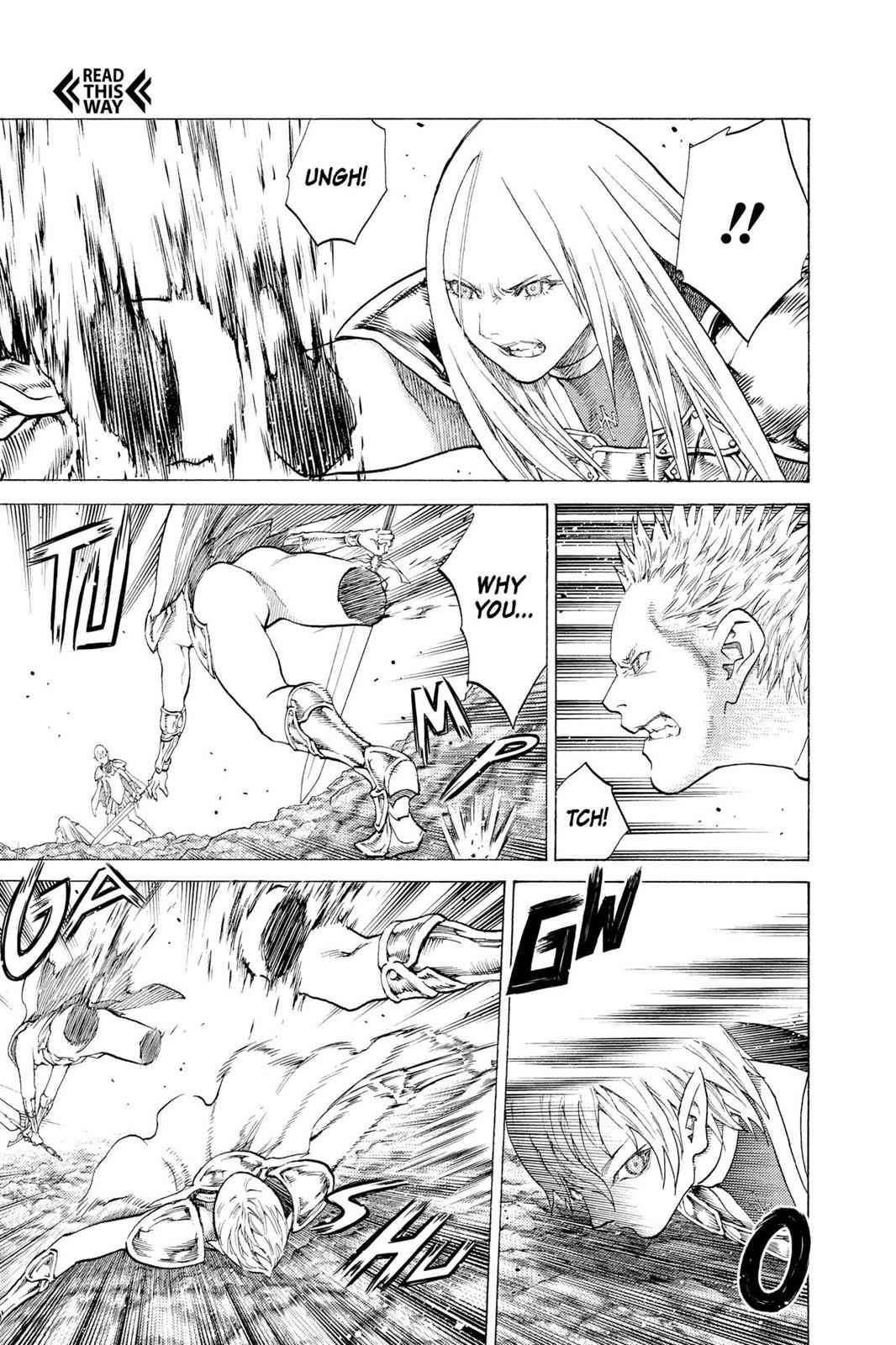 Claymore Chapter 118 Page 3