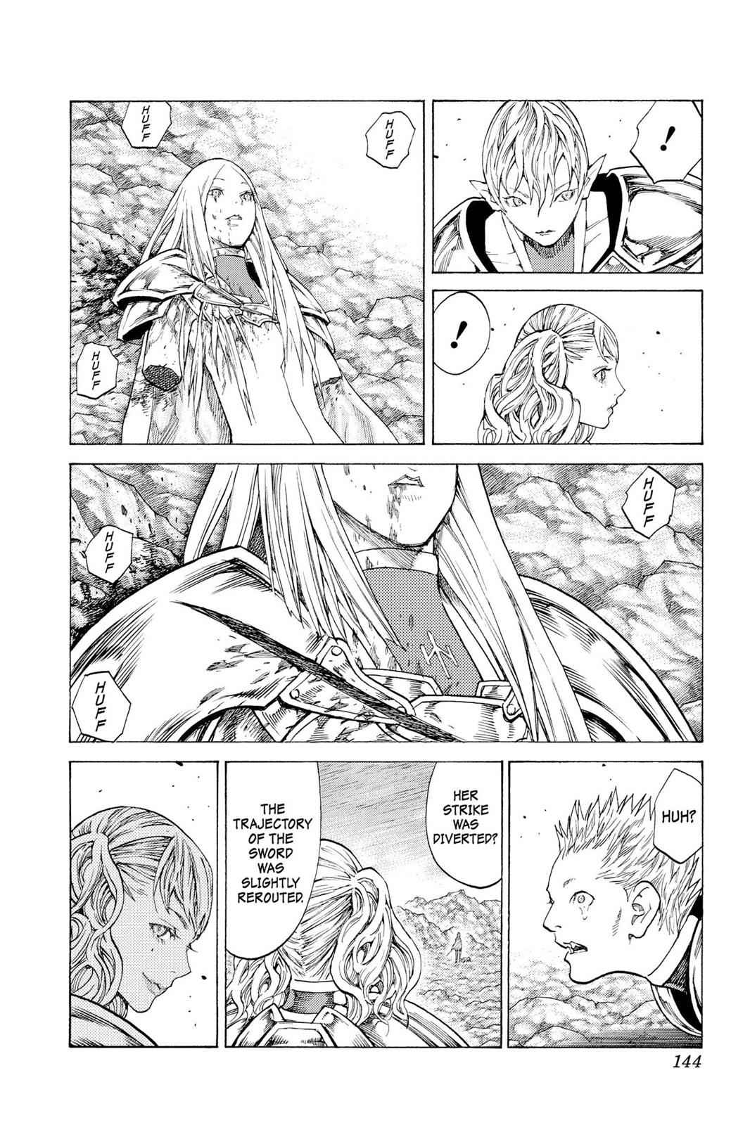 Claymore Chapter 118 Page 9