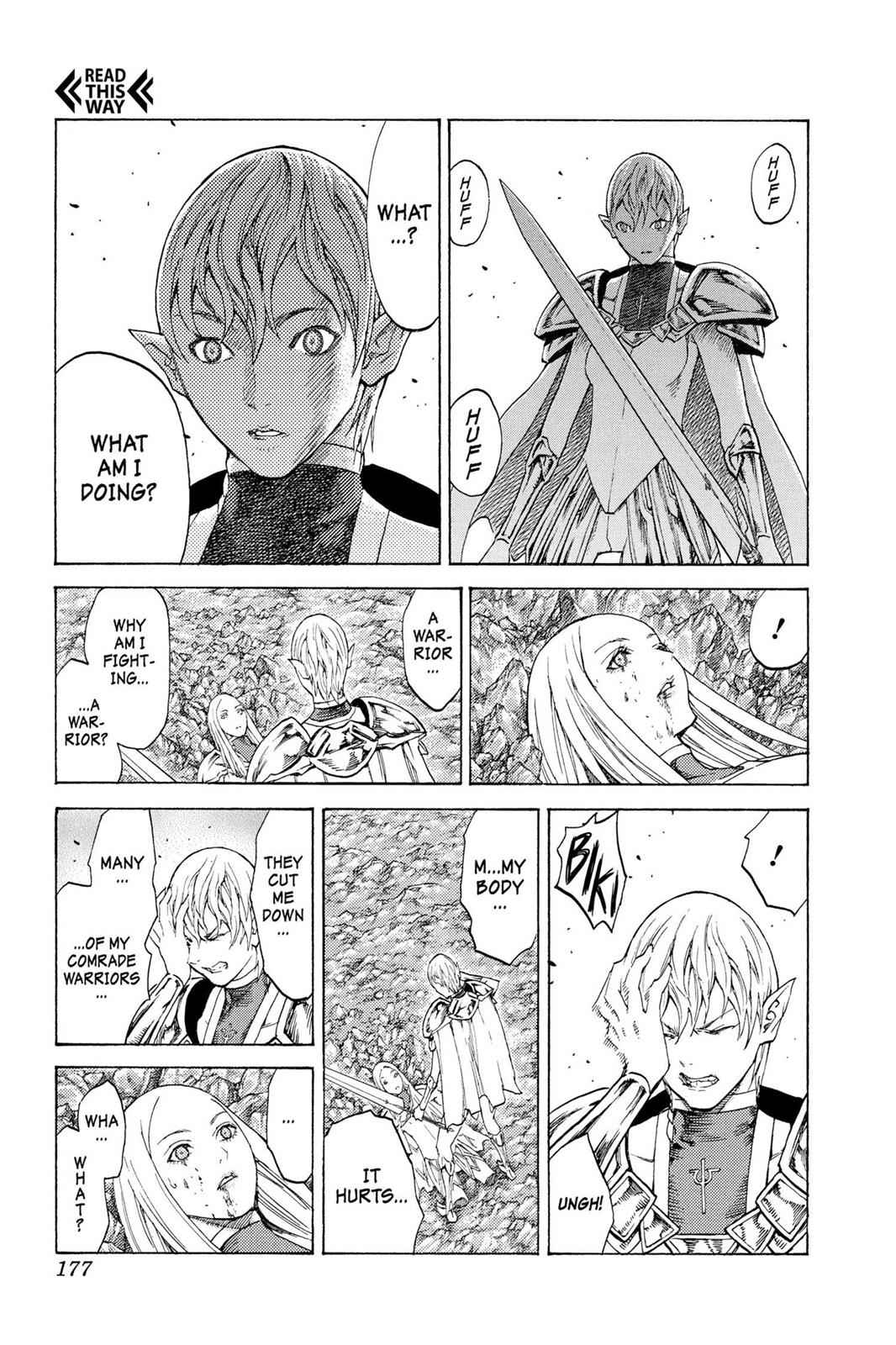Claymore Chapter 119 Page 11