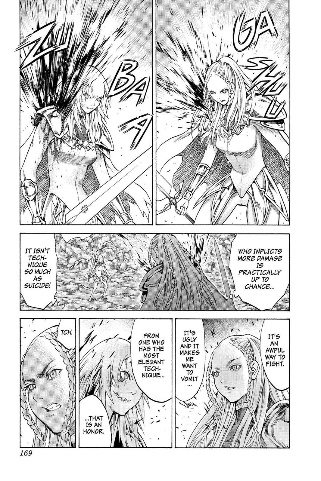 Claymore Chapter 119 Page 3