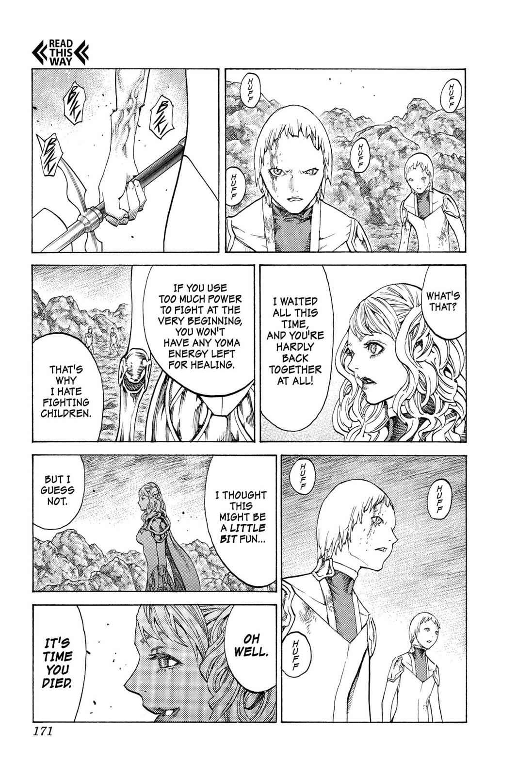 Claymore Chapter 119 Page 5