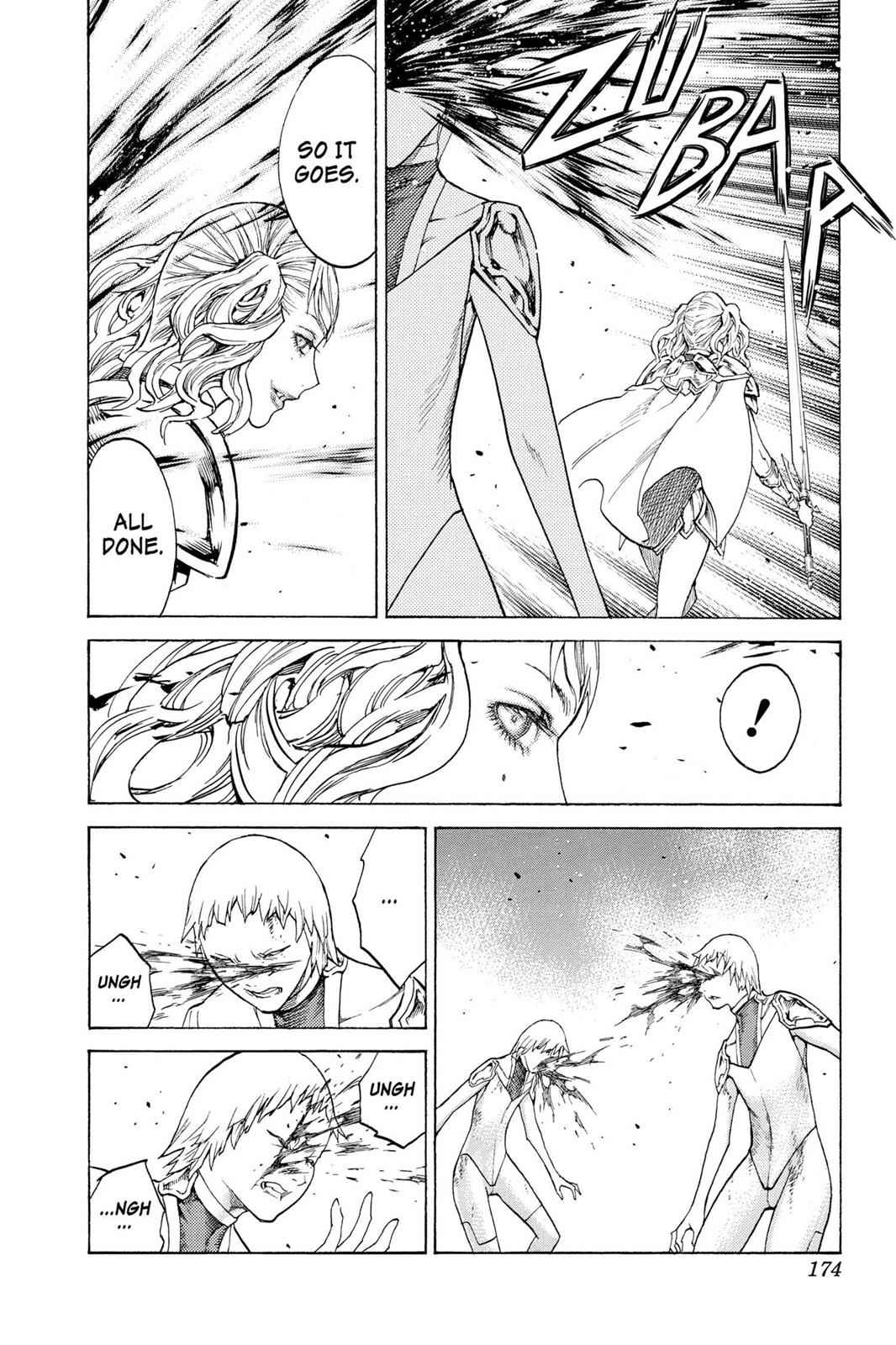 Claymore Chapter 119 Page 8